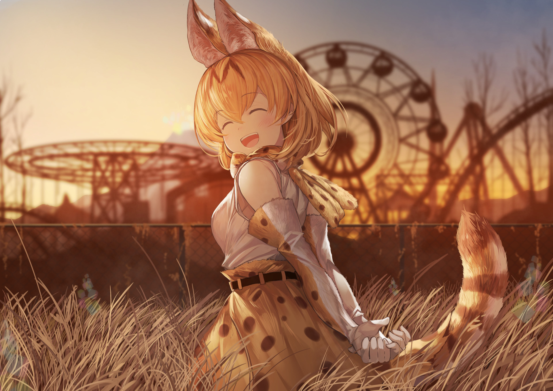 1920x1357 Nana Kemono Friends Wallpapers by Clarence Ducote #13