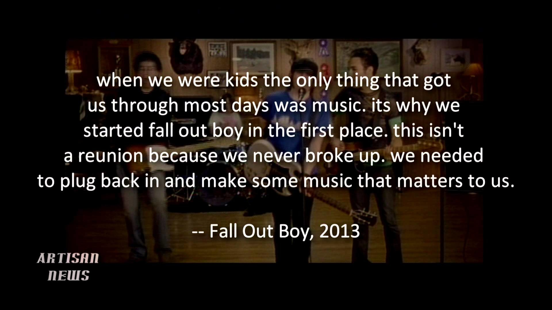 Fall Out Boy Logo Wallpaper (77+ images)