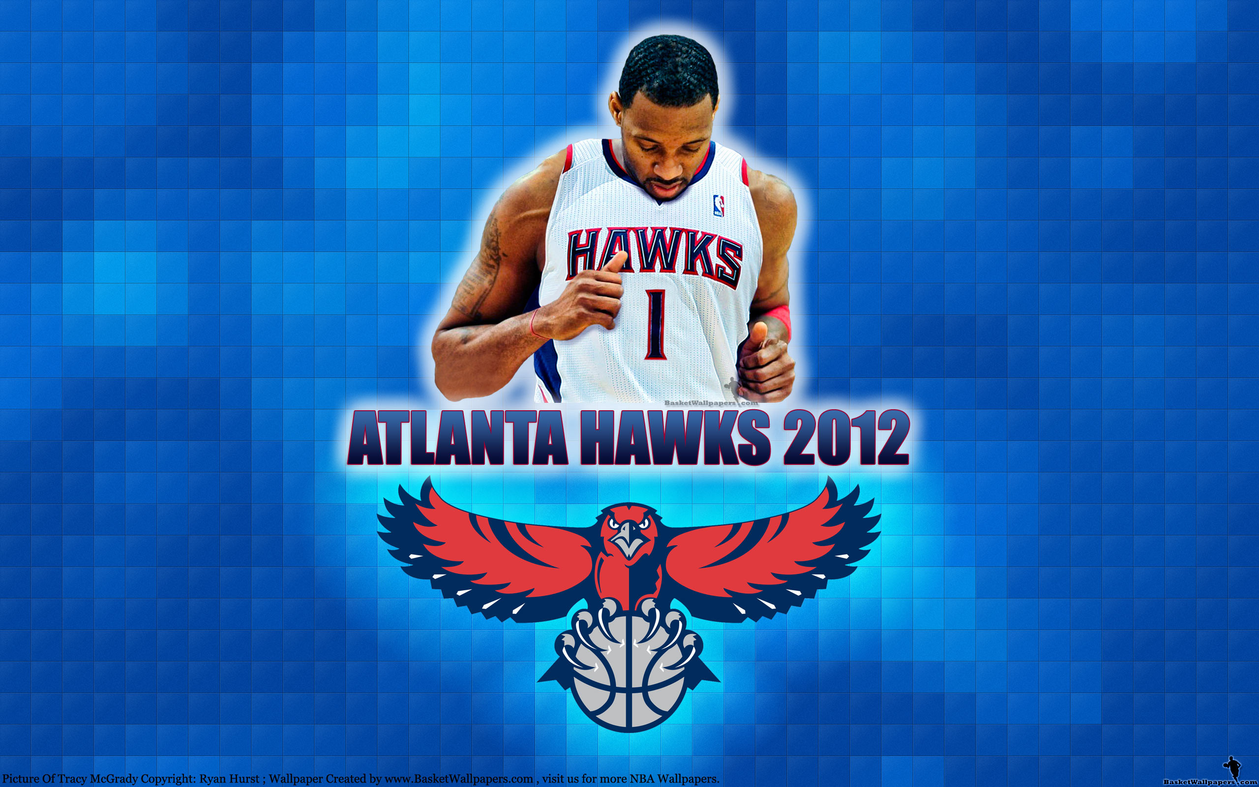 2560x1600 T-Mac Atlanta Hawks 2012  Wallpaper
