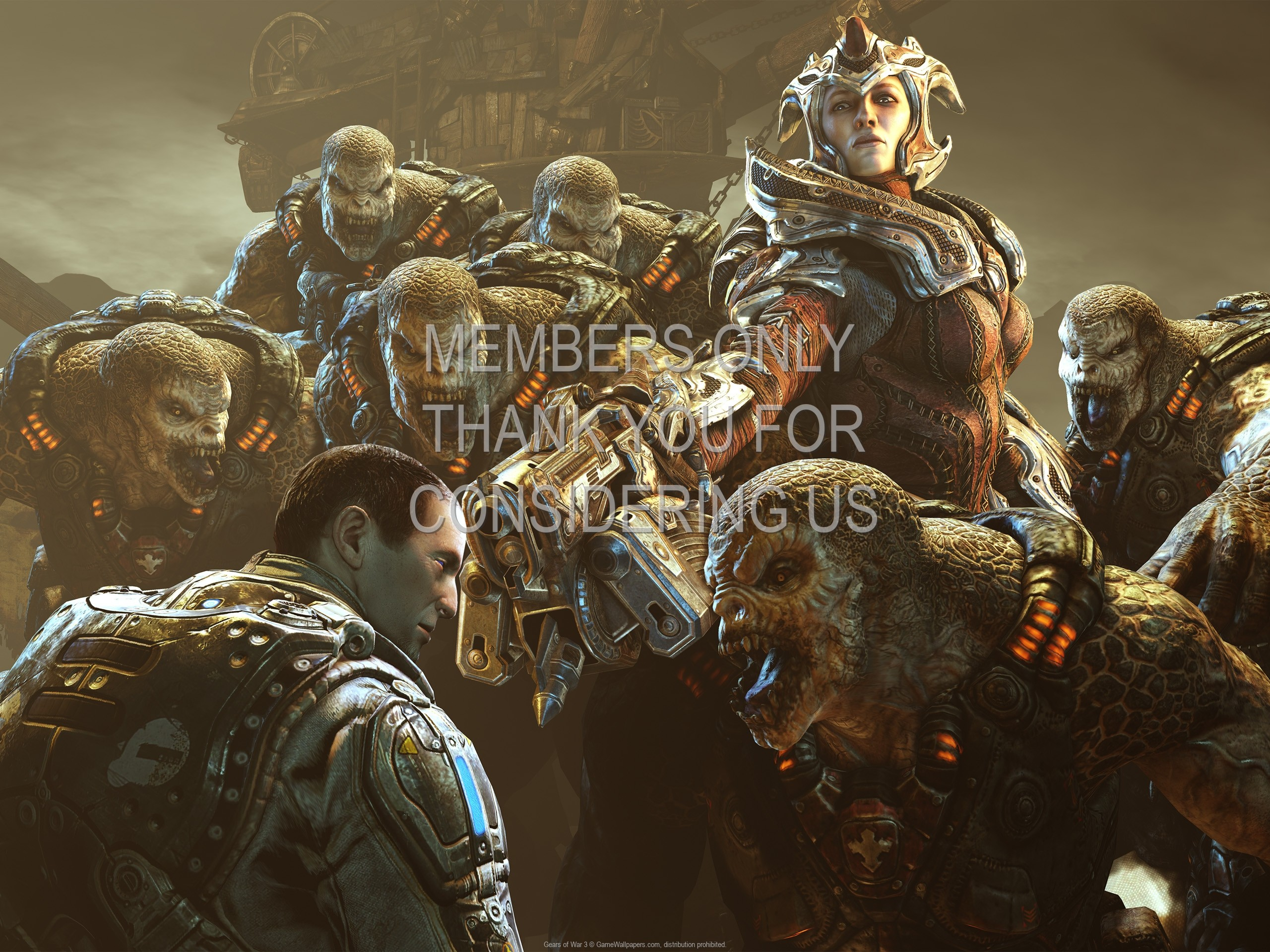 2560x1920 Gears of War 3 wallpaper 05 @ 1920x1080