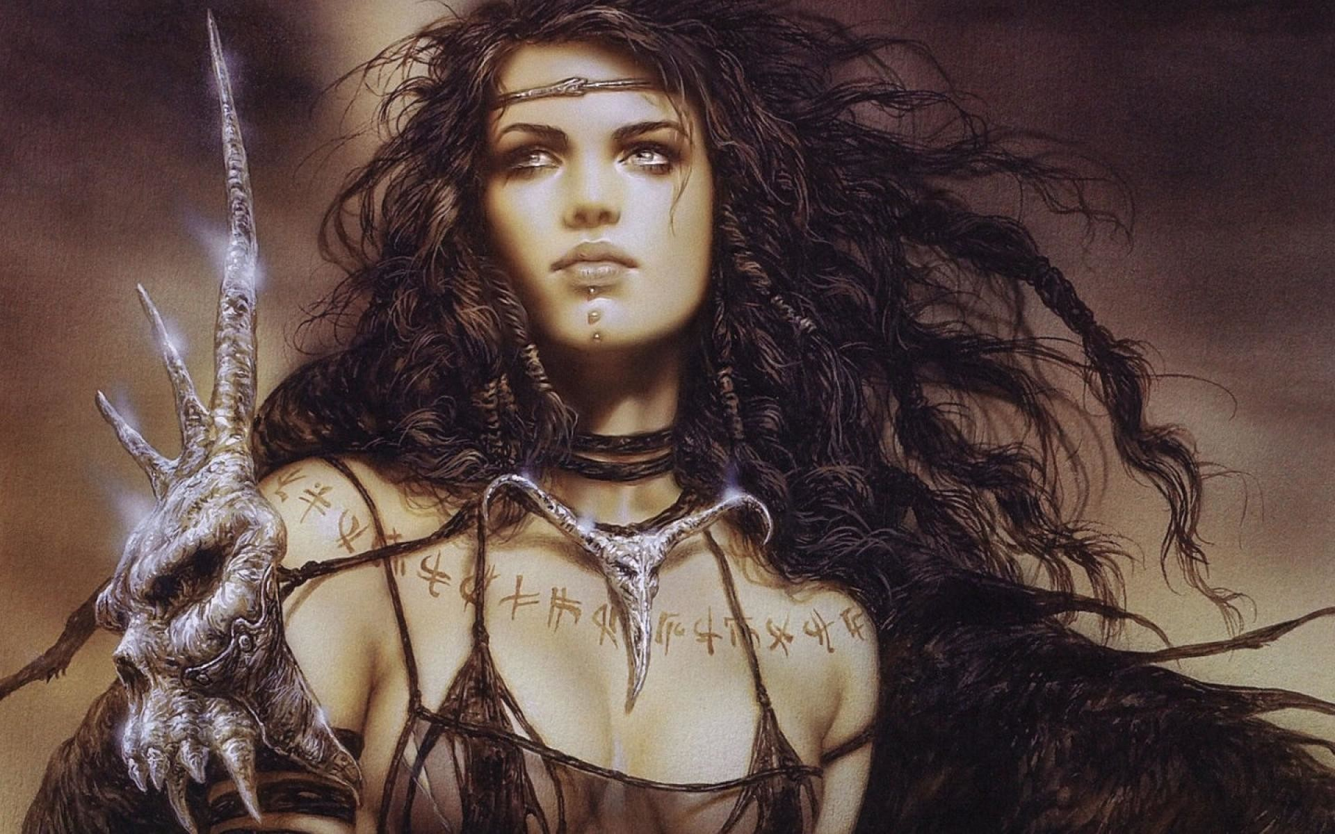 1920x1200 Luis Royo images Female Warrior Beauty HD wallpaper and background photos