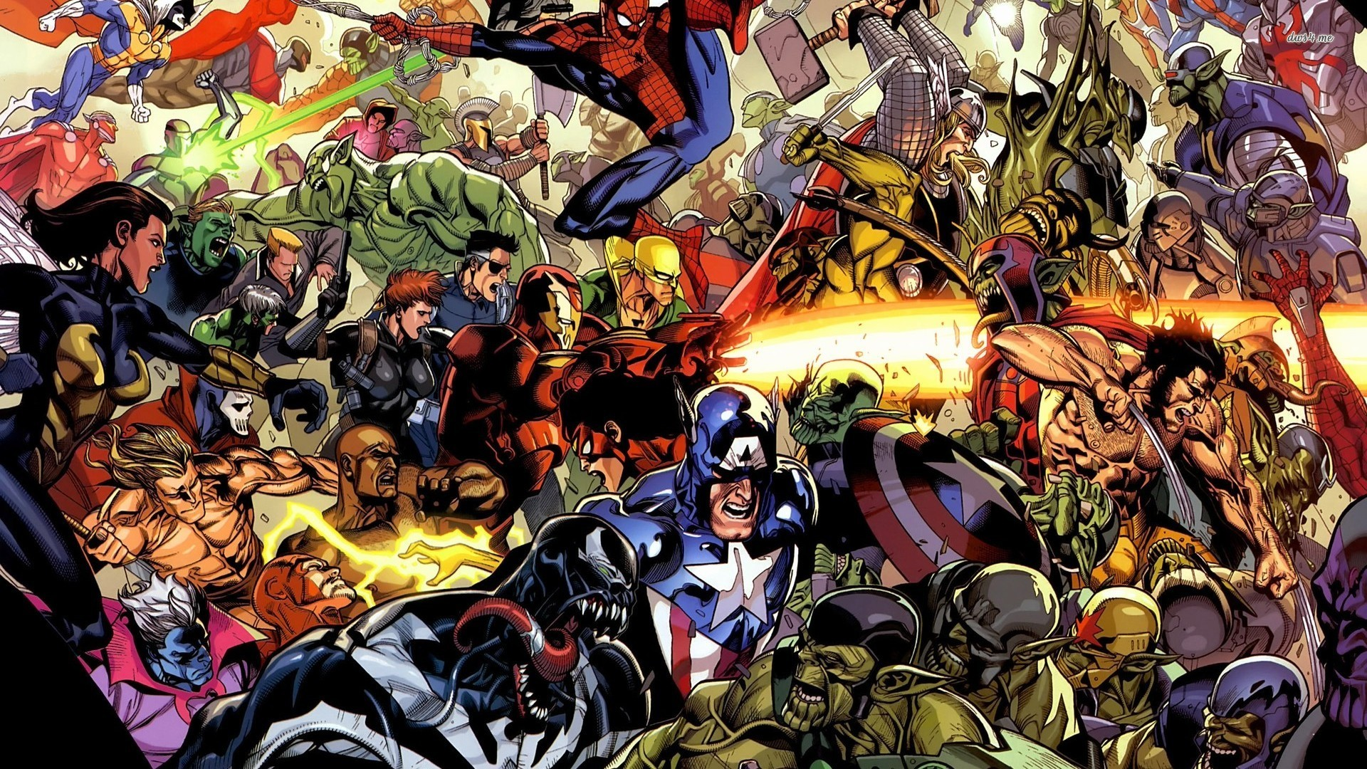 1920x1080 Marvel Superheroes Wallpaper 21944