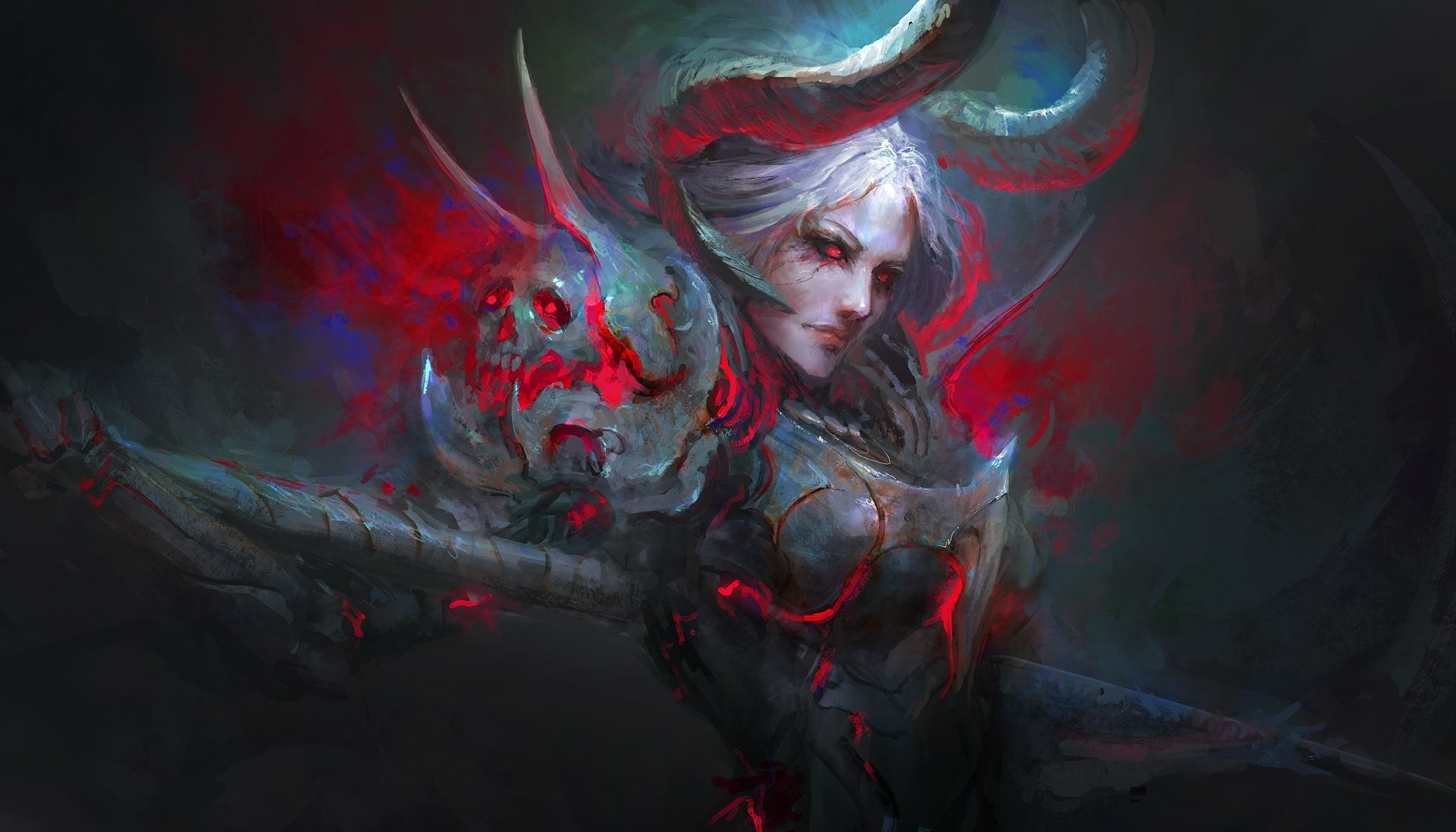 Female Demon Wallpaper (70+ images)  Female Demon Wa...