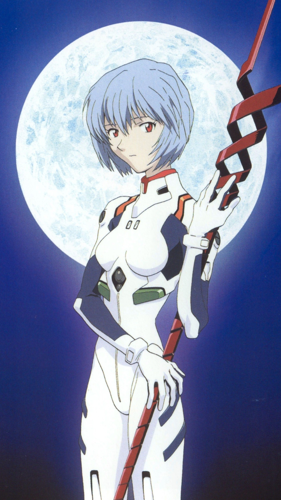 1080x1920 Neon Genesis Evangelion Rei Ayanami.iPhone 6 Plus wallpaper