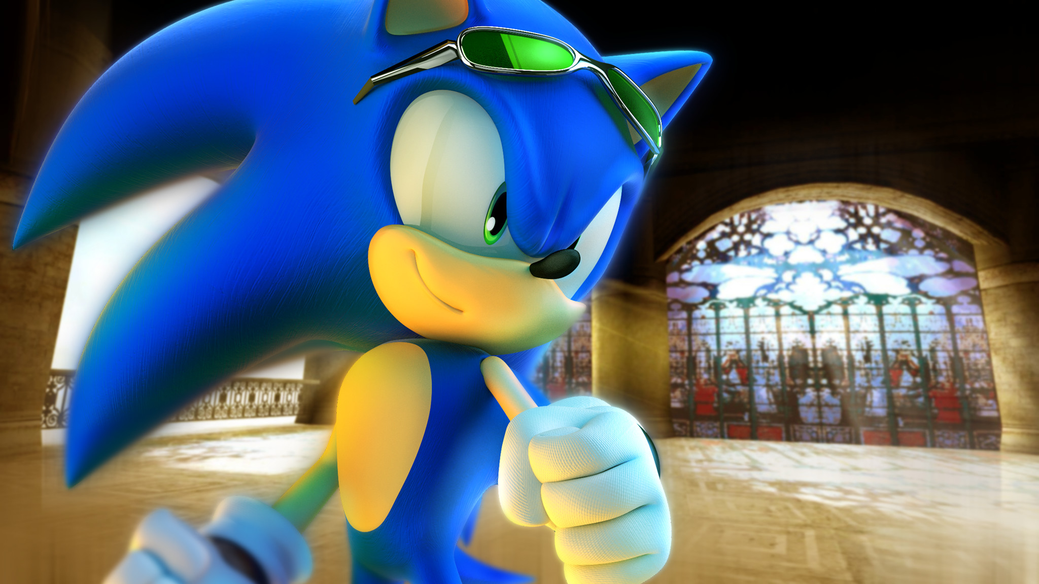 2048x1152 ... RealSonicSpeed Sonic in a Digital Dimension by RealSonicSpeed