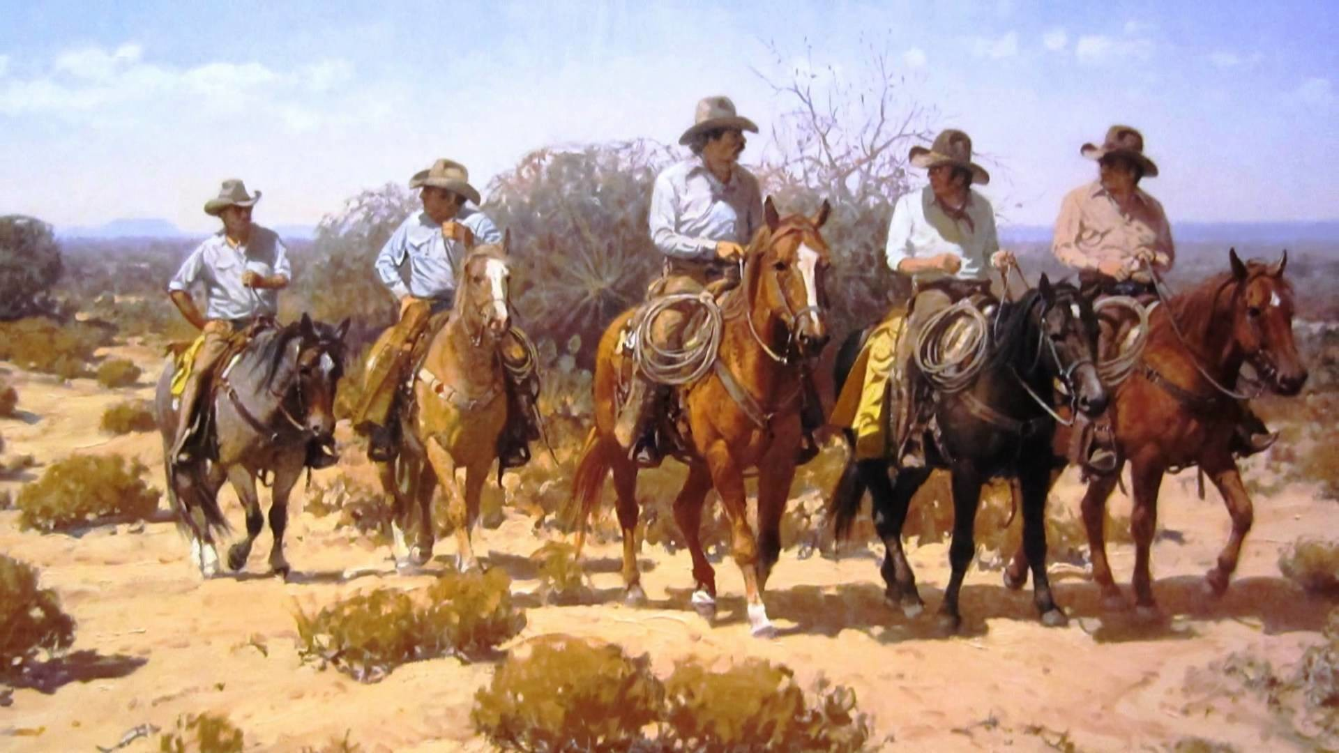 1920x1080 Old West Cowboys | ... , cowboys, fantasy, horses, lady,