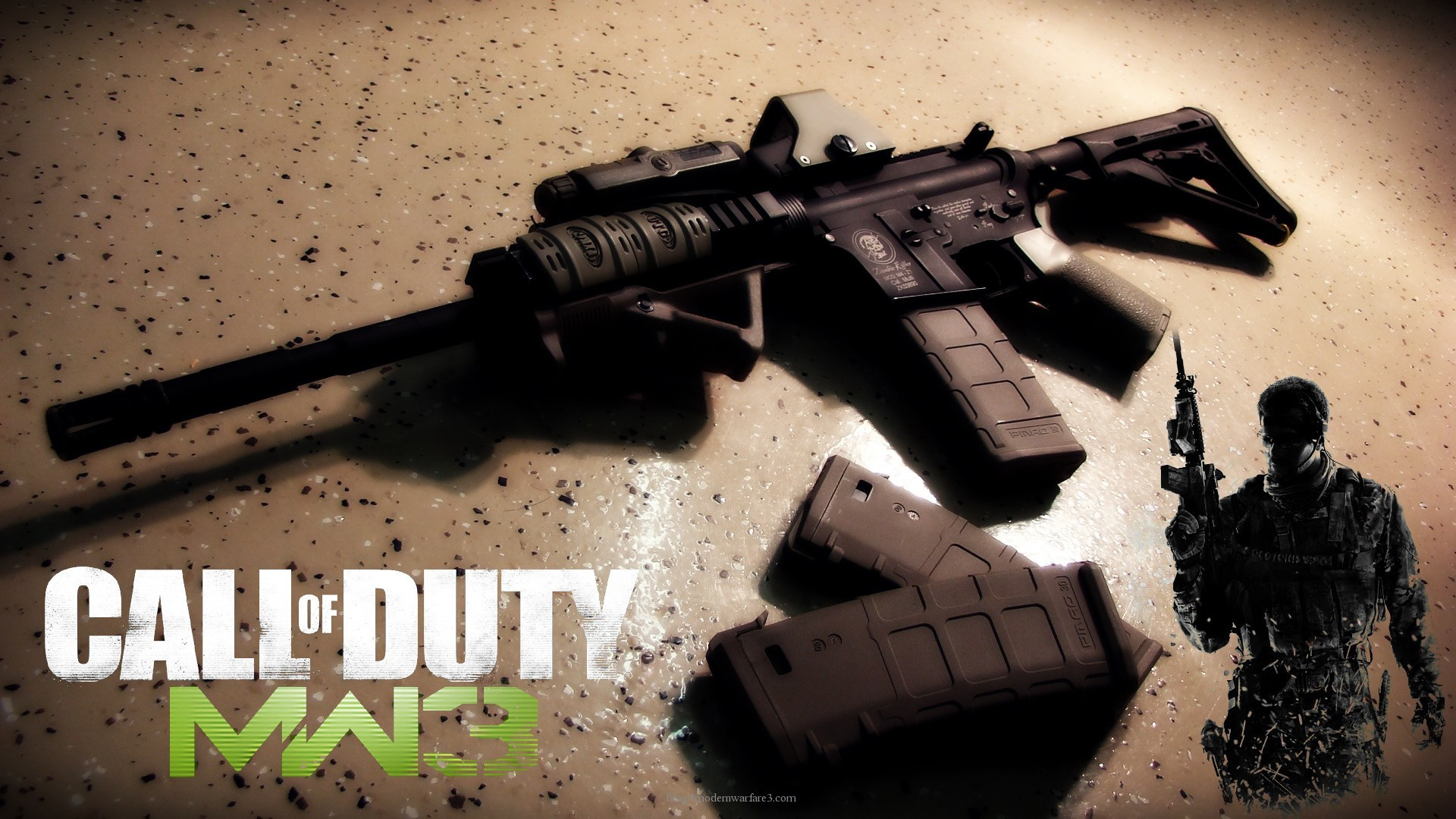 1920x1080 30 Wallpaper Of Call Duty Modern Warfare 3 In Widescreen