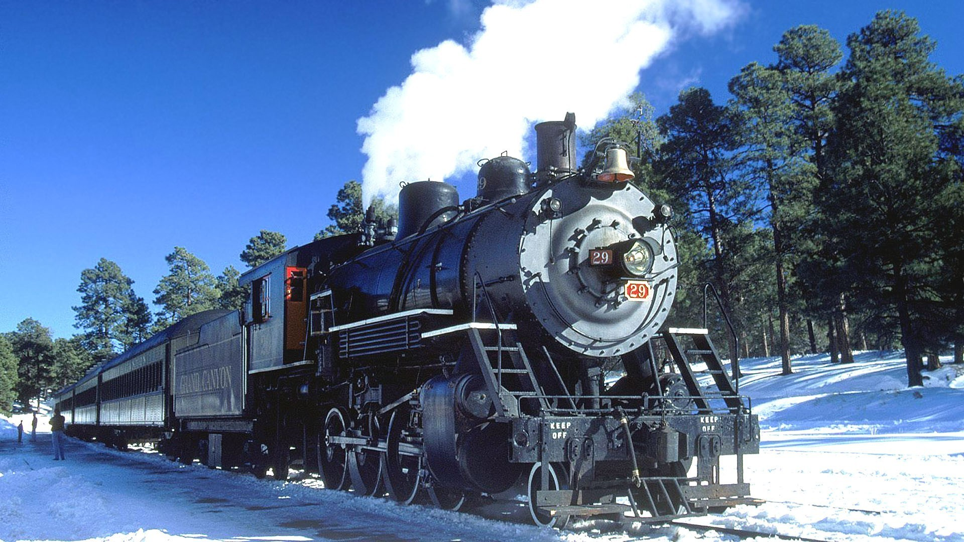 1920x1080 Engines trains grand canyon locomotives widescreen wallpaper