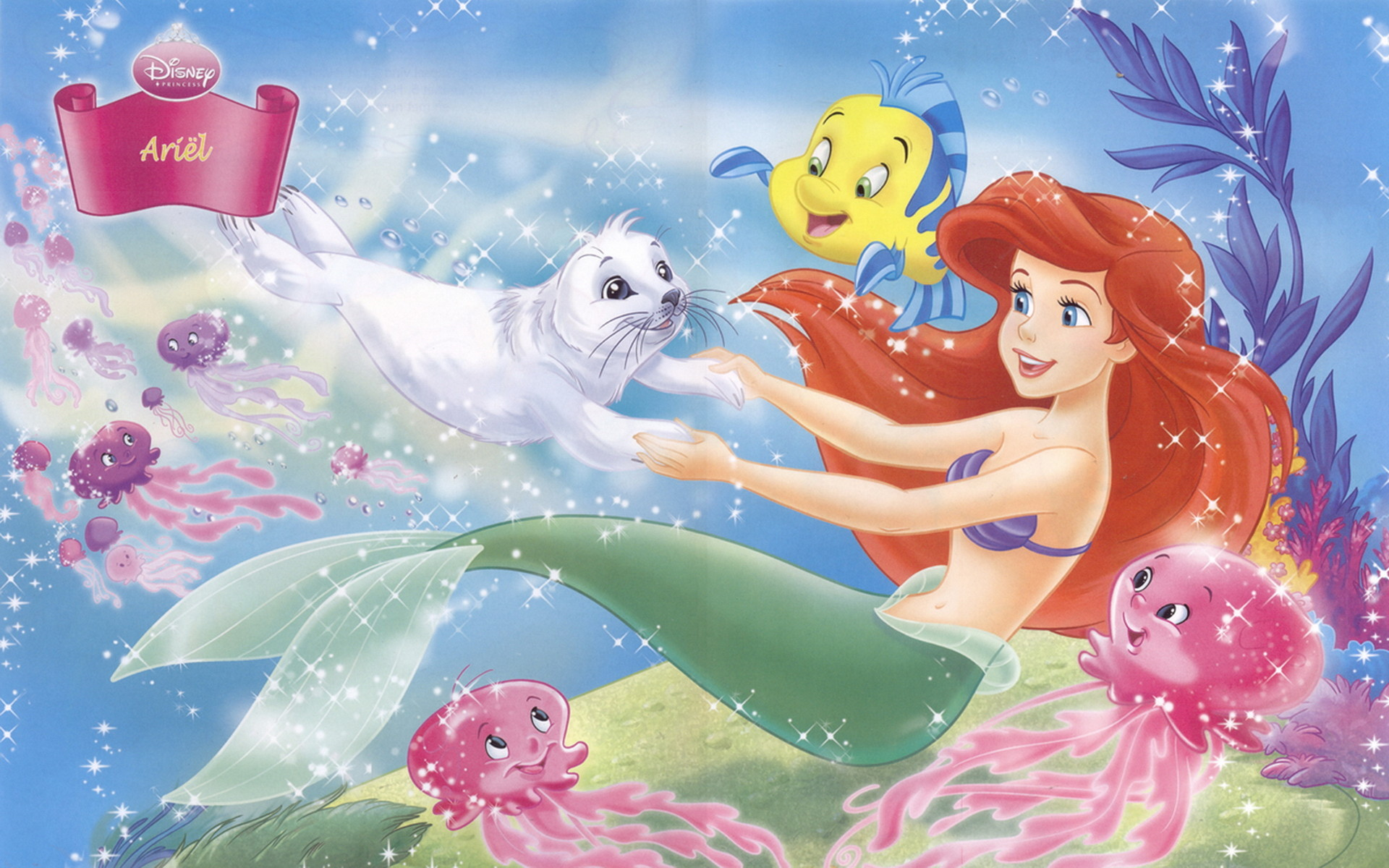 1920x1200 Disney Princess Ariel