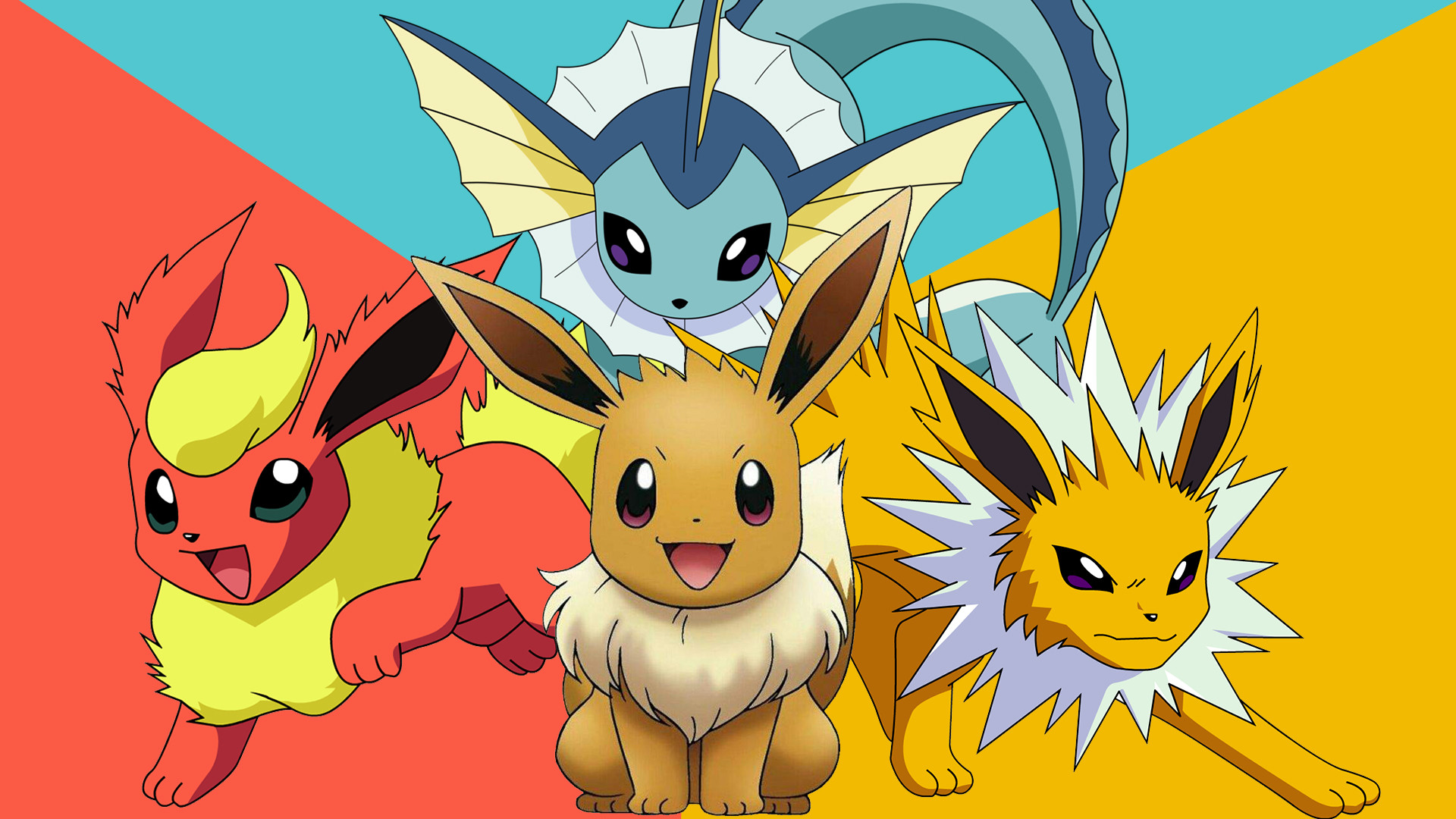 1920x1080 Eevee Pokemon Wallpaper HD #1323