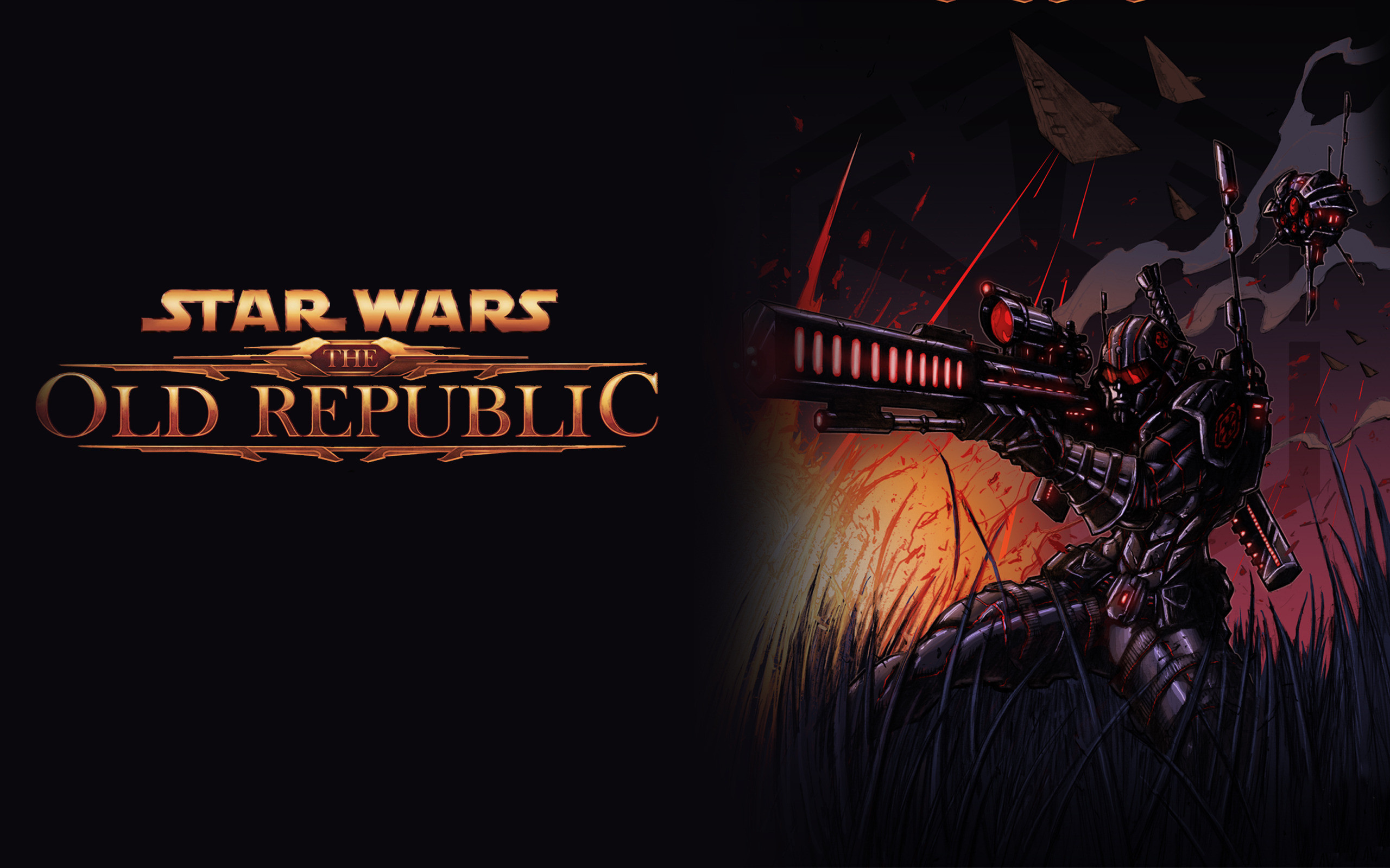 2560x1600 Star Wars: The Old Republic Widescreen Wallpaper