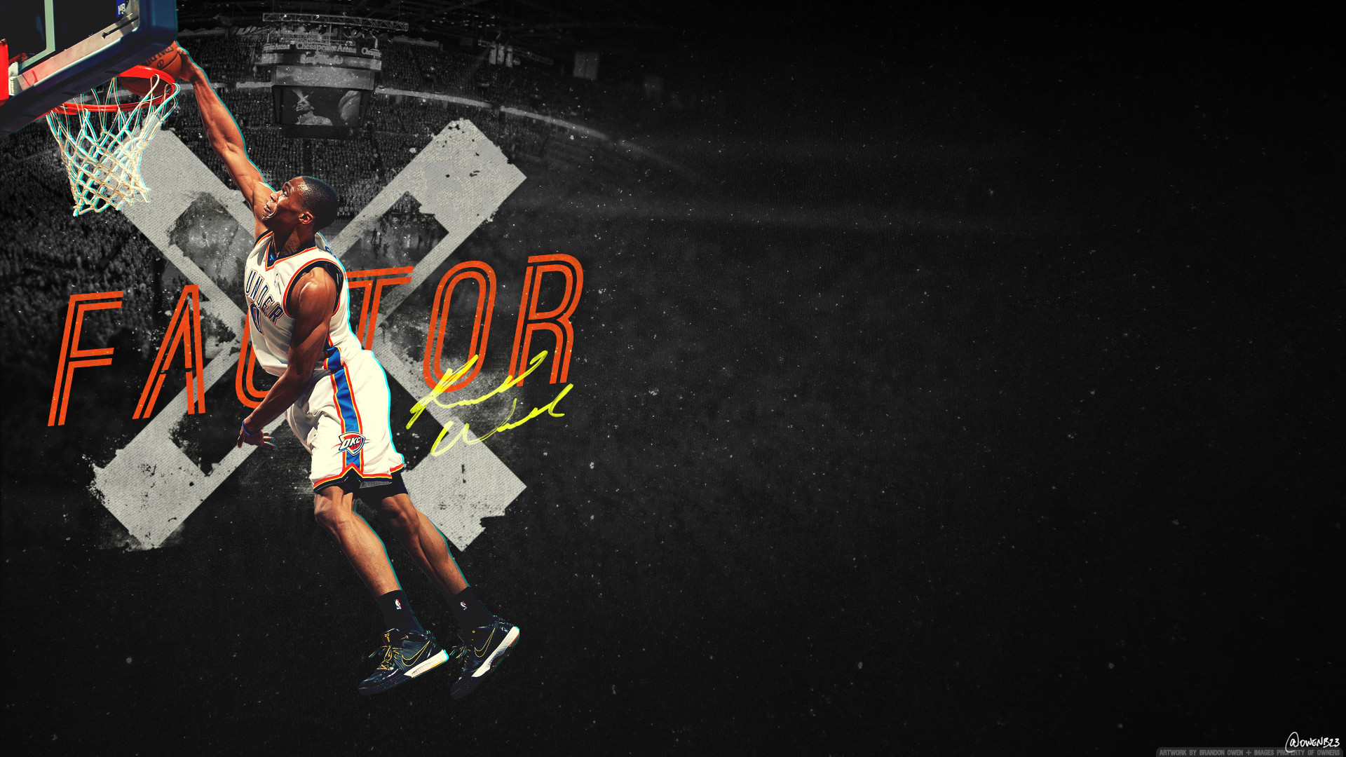 1920x1080 Go Back > Images For > Russell Westbrook Dunk Wallpaper