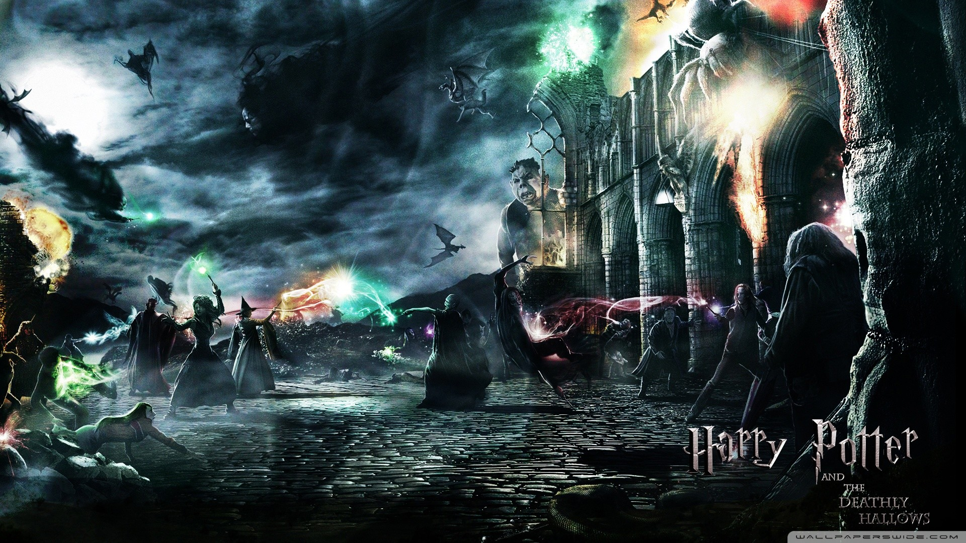 1080p Harry Potter Wallpaper (82+ images) Ron And Hermione Kiss Chamber Of Secrets
