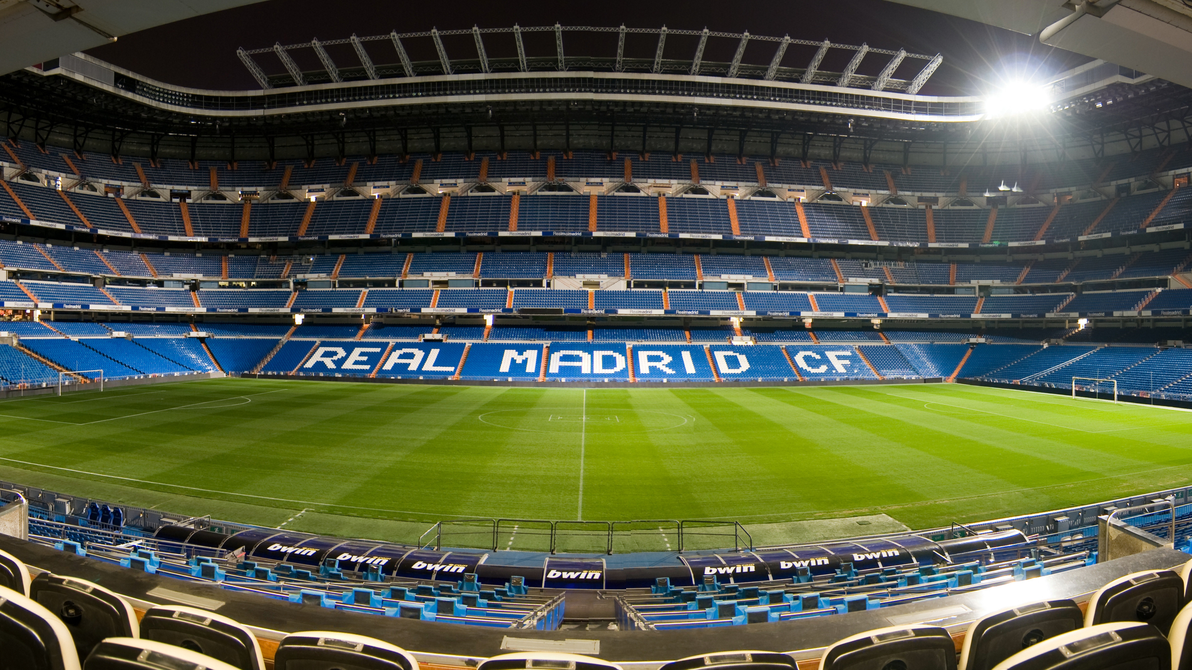 3840x2160 Real Madrid Stadium Wallpaper HD.