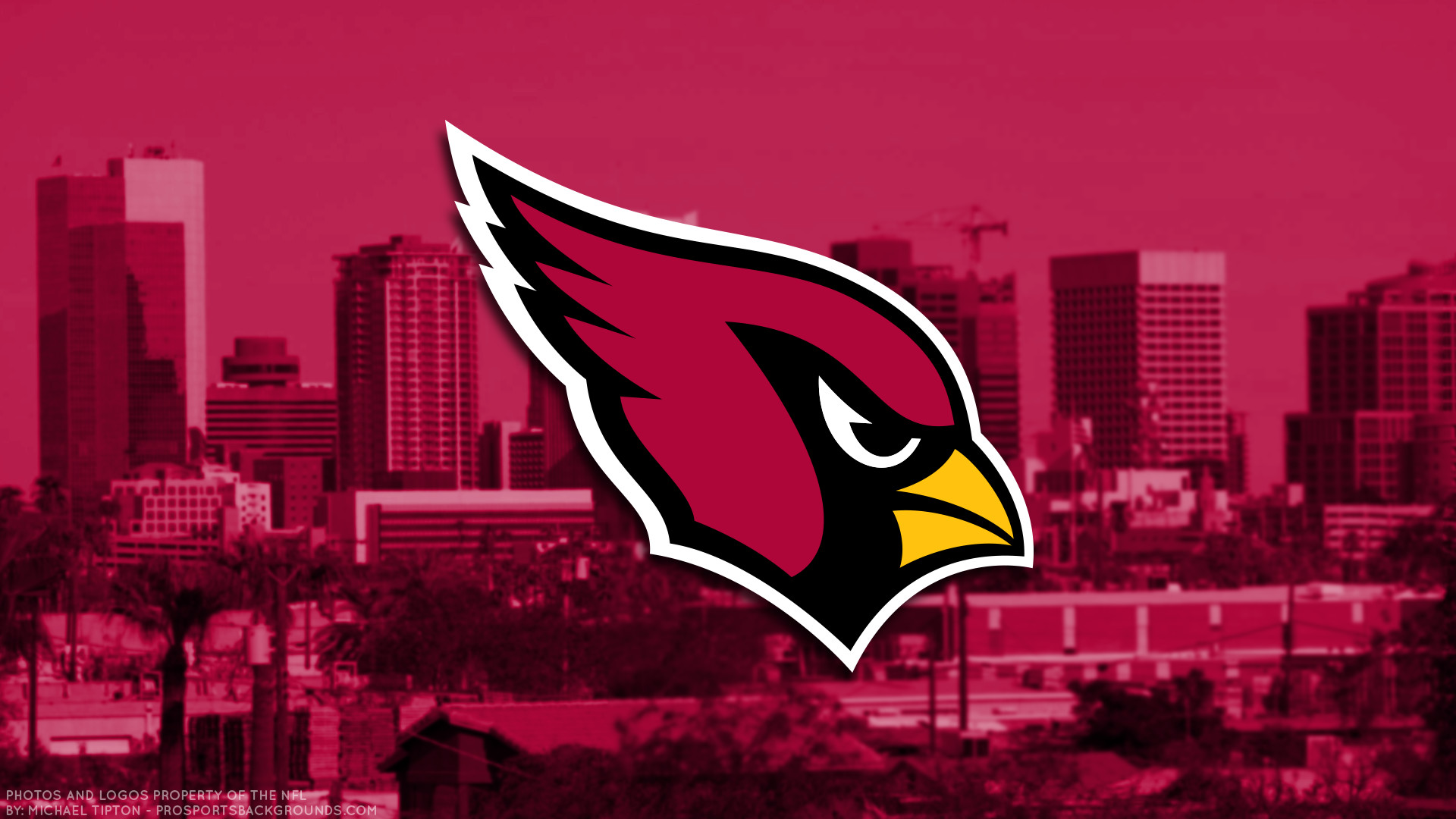 1920x1080 ... Arizona Cardinals 2018 city logo wallpaper free for desktop pc iphone  galaxy and andriod printable screensaver