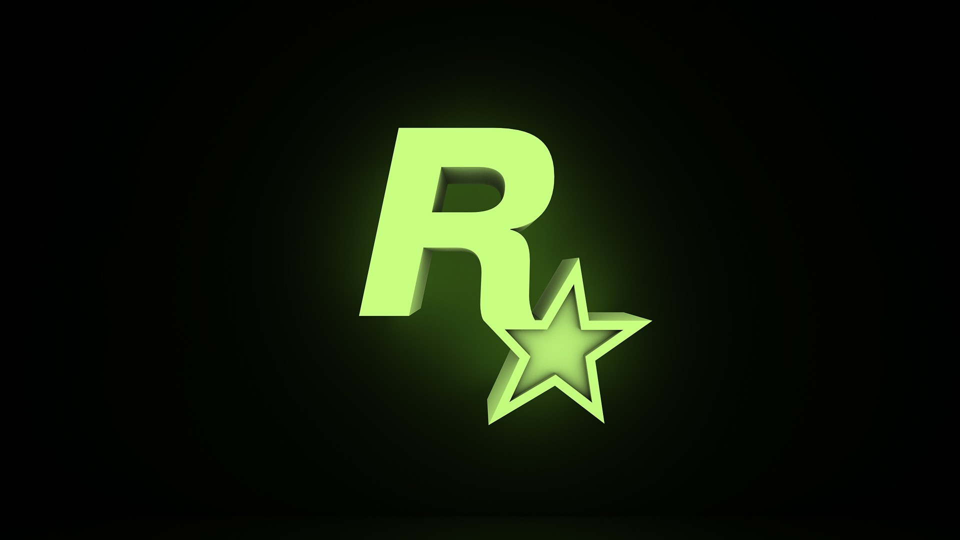 1920x1080 Rockstar Games Wallpaper  Rockstar Games Glow Logos New