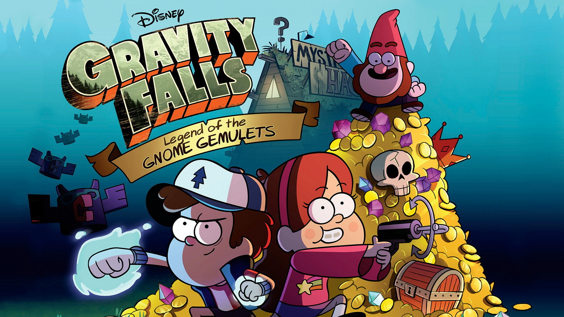 1920x1080 Gravity Falls - Legend of Gnome Gemulets