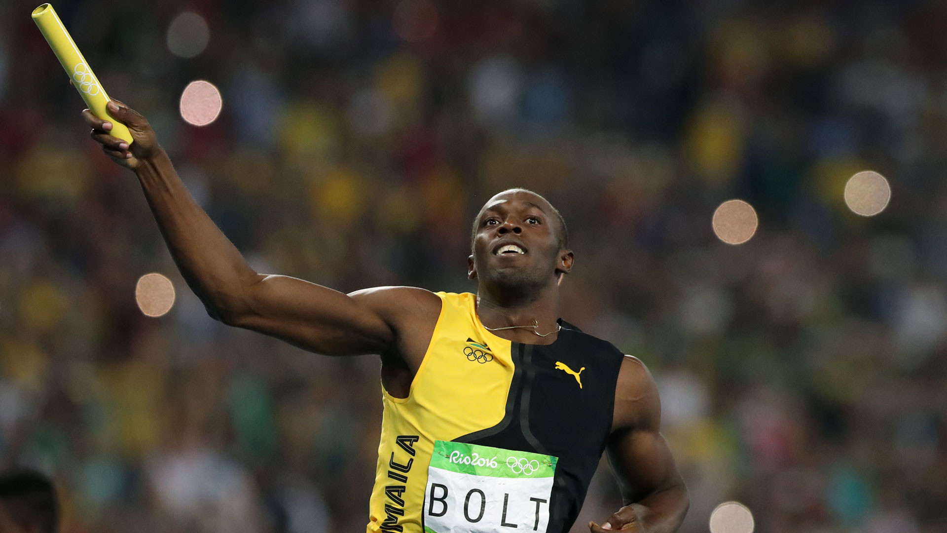 1920x1080 Usain Bolt wins 4x100m gold medal in his final Olympic race | NBC Olympics