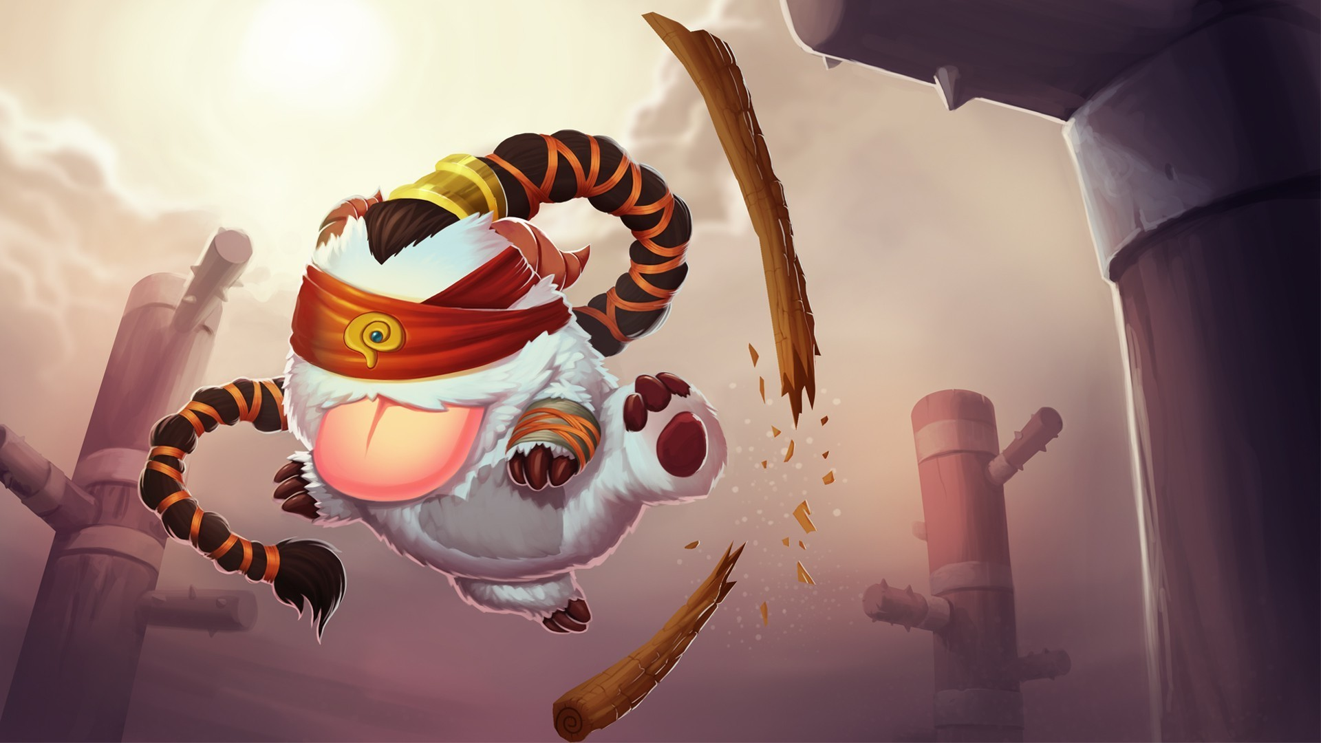 1920x1080 Poro, Lee Sin, League Of Legends Wallpapers HD / Desktop and Mobile  Backgrounds