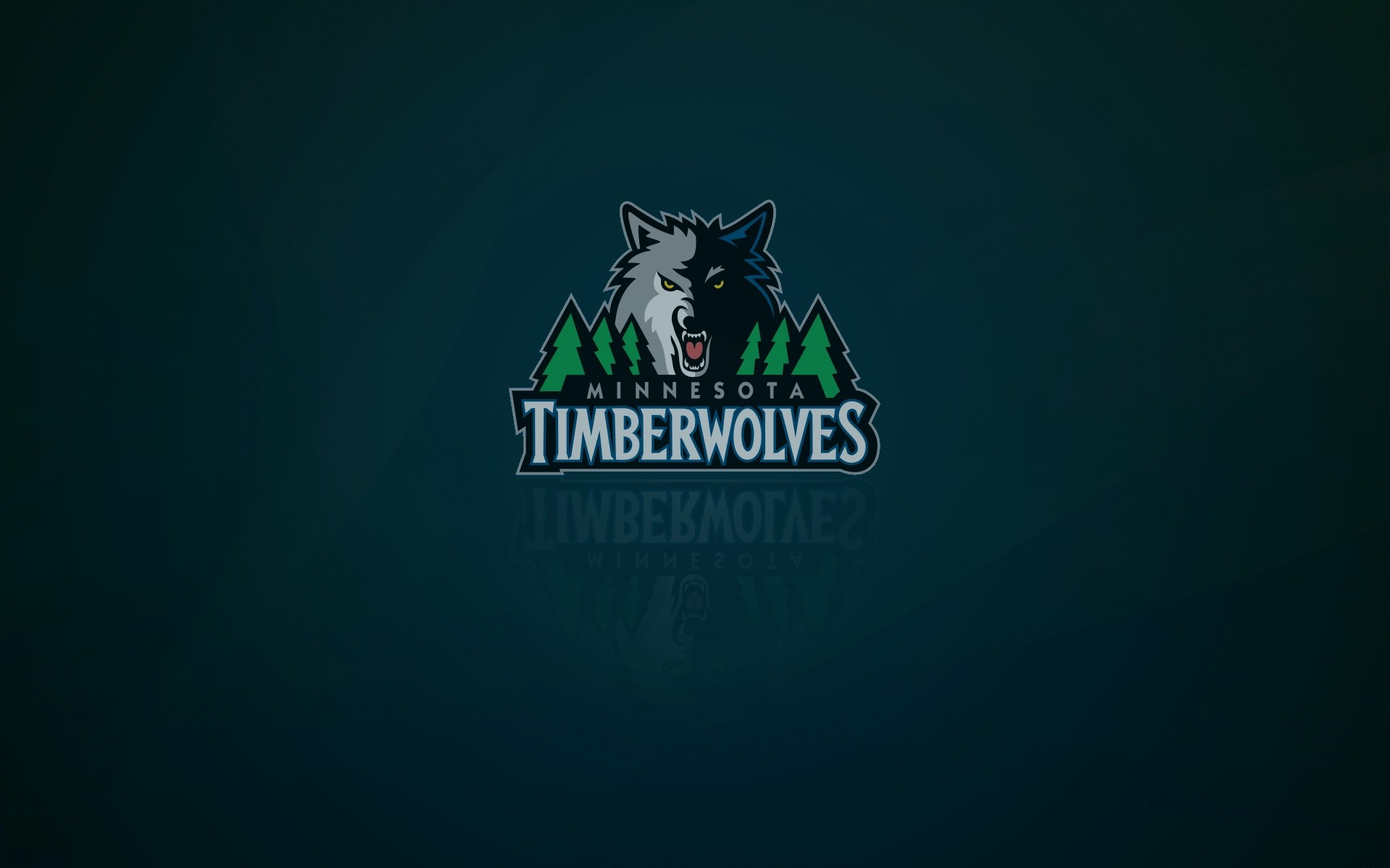 1920x1200 Minnesota Timberwolves wallpaper and logo with shadow on it, widescreen  16x10,  px
