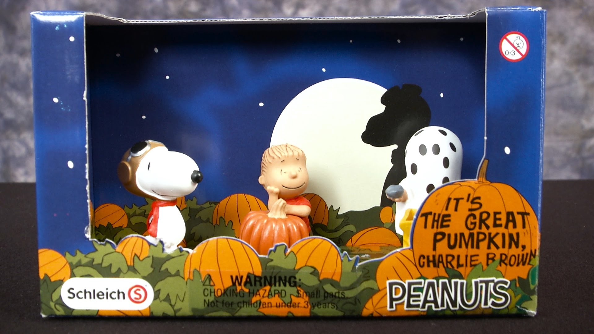 1920x1080 Peanuts It's The Great Pumpkin, Charlie Brown Figure Set from Schleich -  YouTube