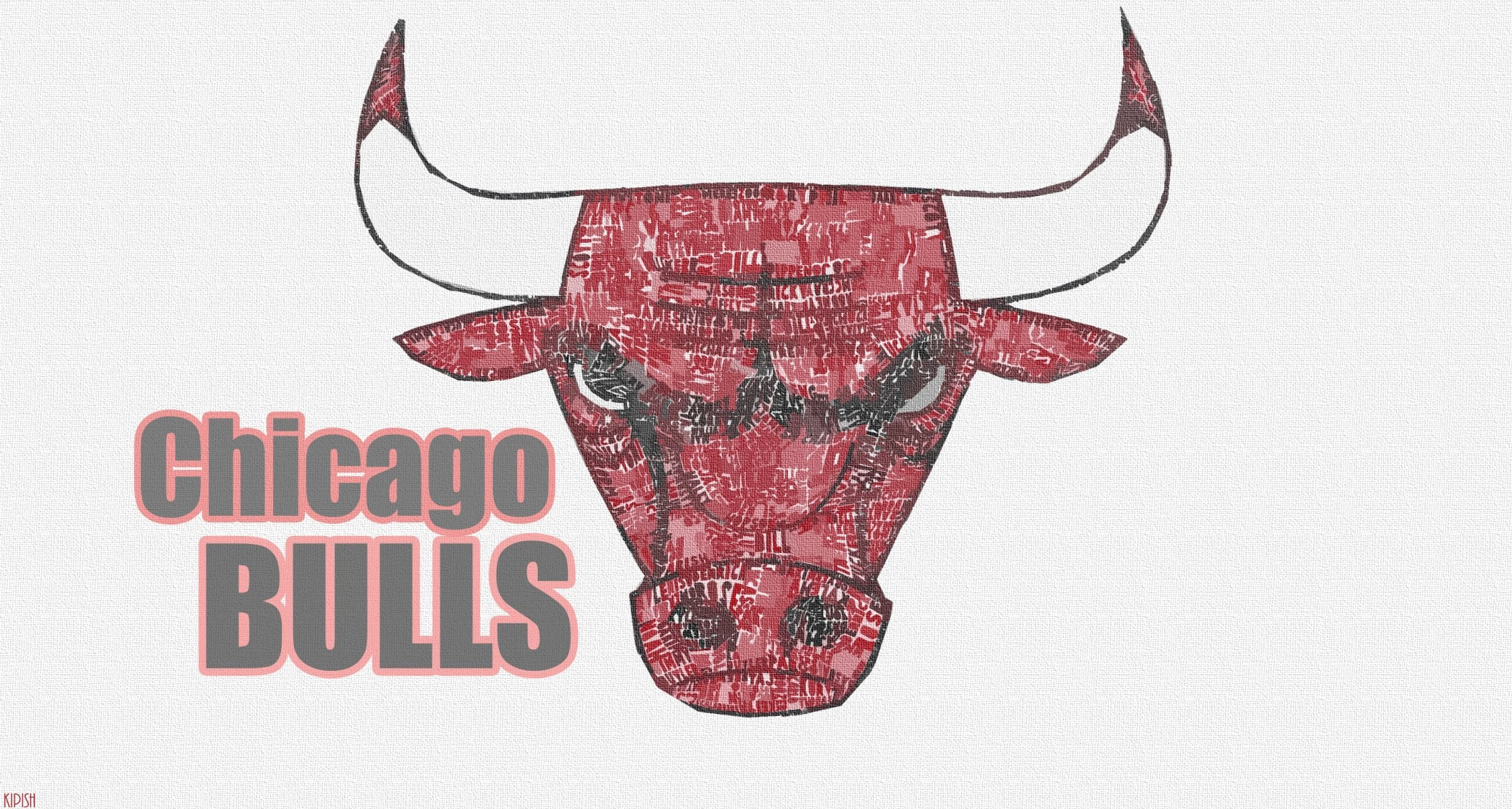 2243x1200 basketball nba logo background chicago bulls bulls HD wallpaper