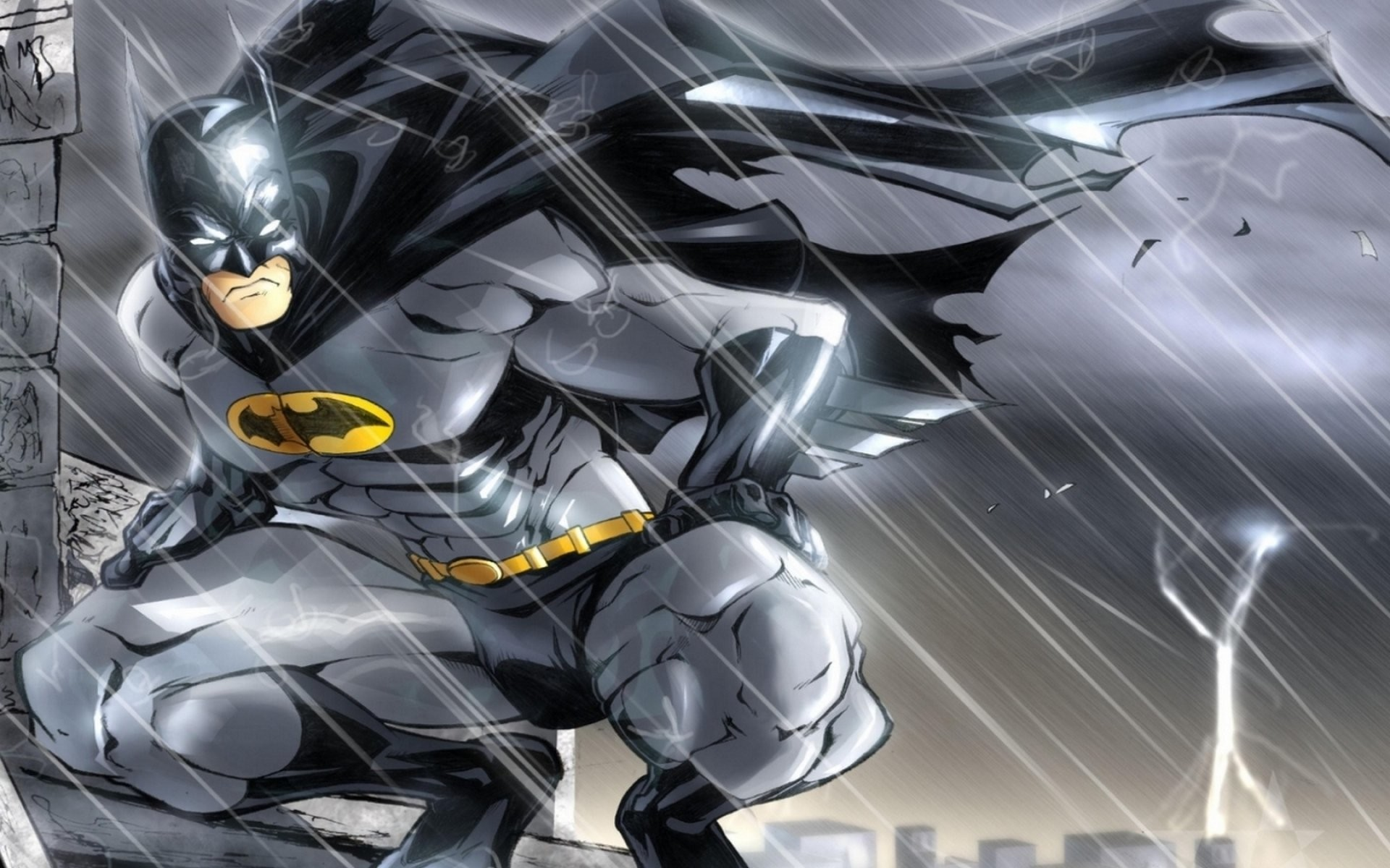 1920x1200 Batman Cartoon 845396 · cartoon batman