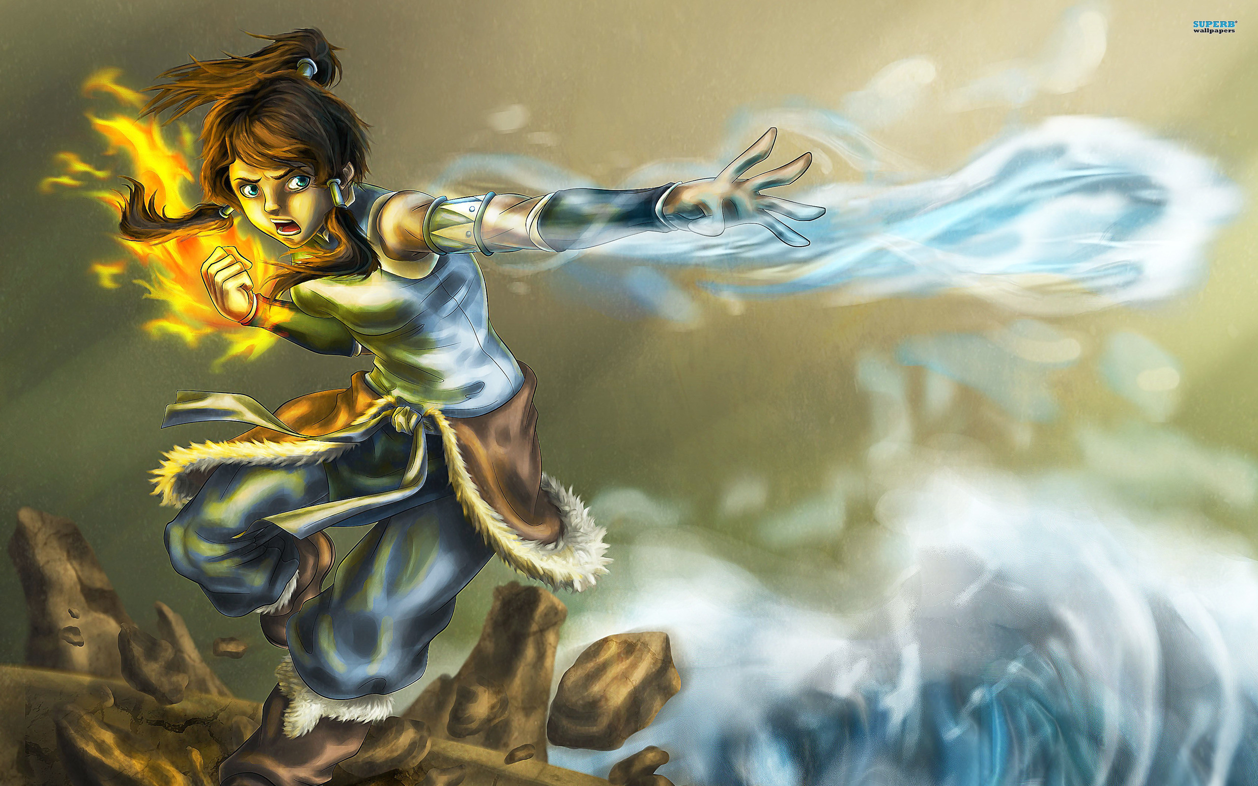 2560x1600 The Legend Of Korra Korra In A Dress