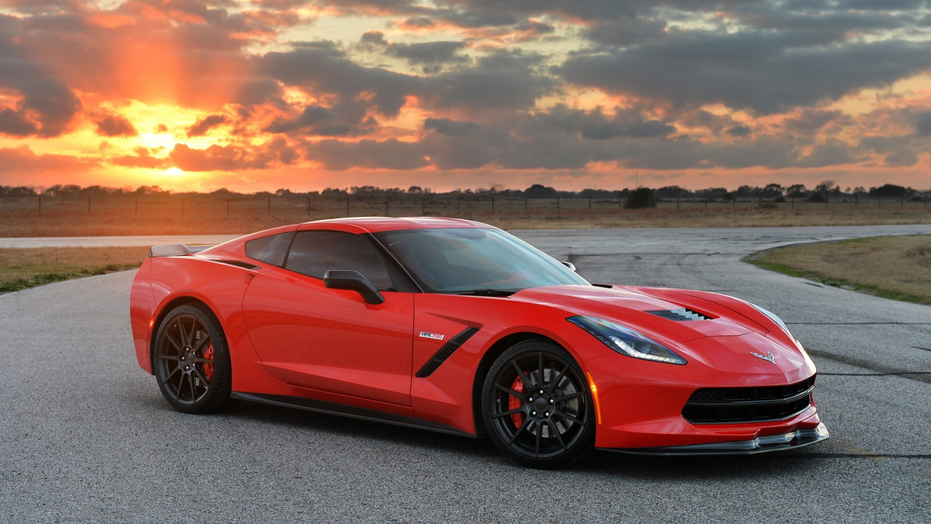1920x1080 Preview wallpaper chevrolet, corvette, stingray, twin turbo, c7, 2014