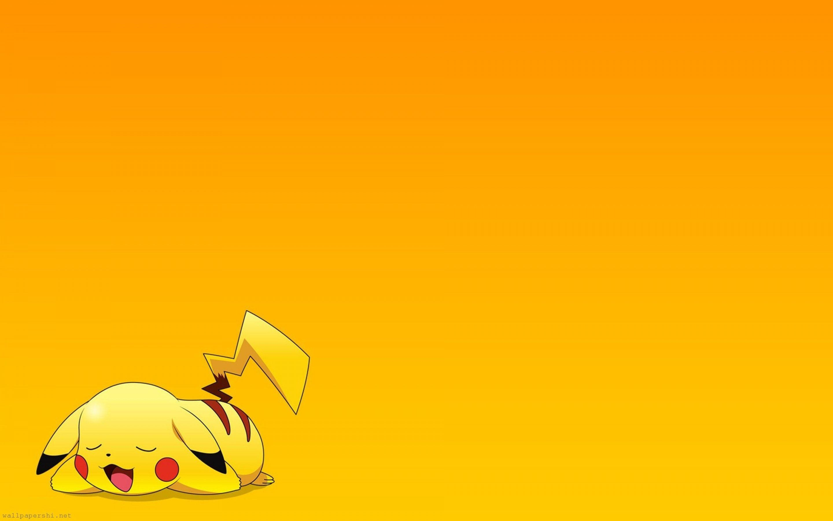 2880x1800 Pokemon Pikachu Exclusive HD Wallpapers #