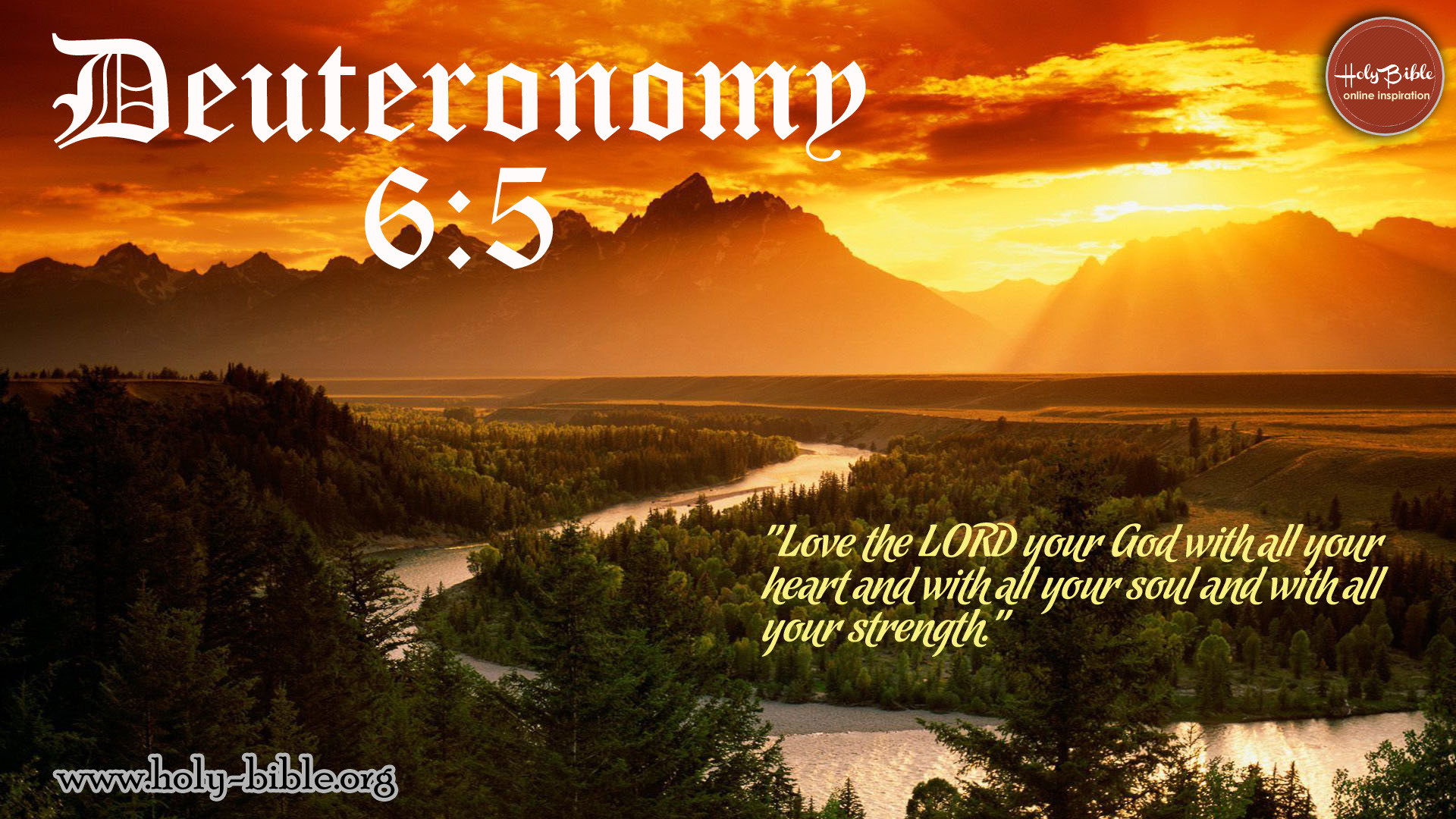 1920x1080 Bible Verse of the day – Deuteronomy ...