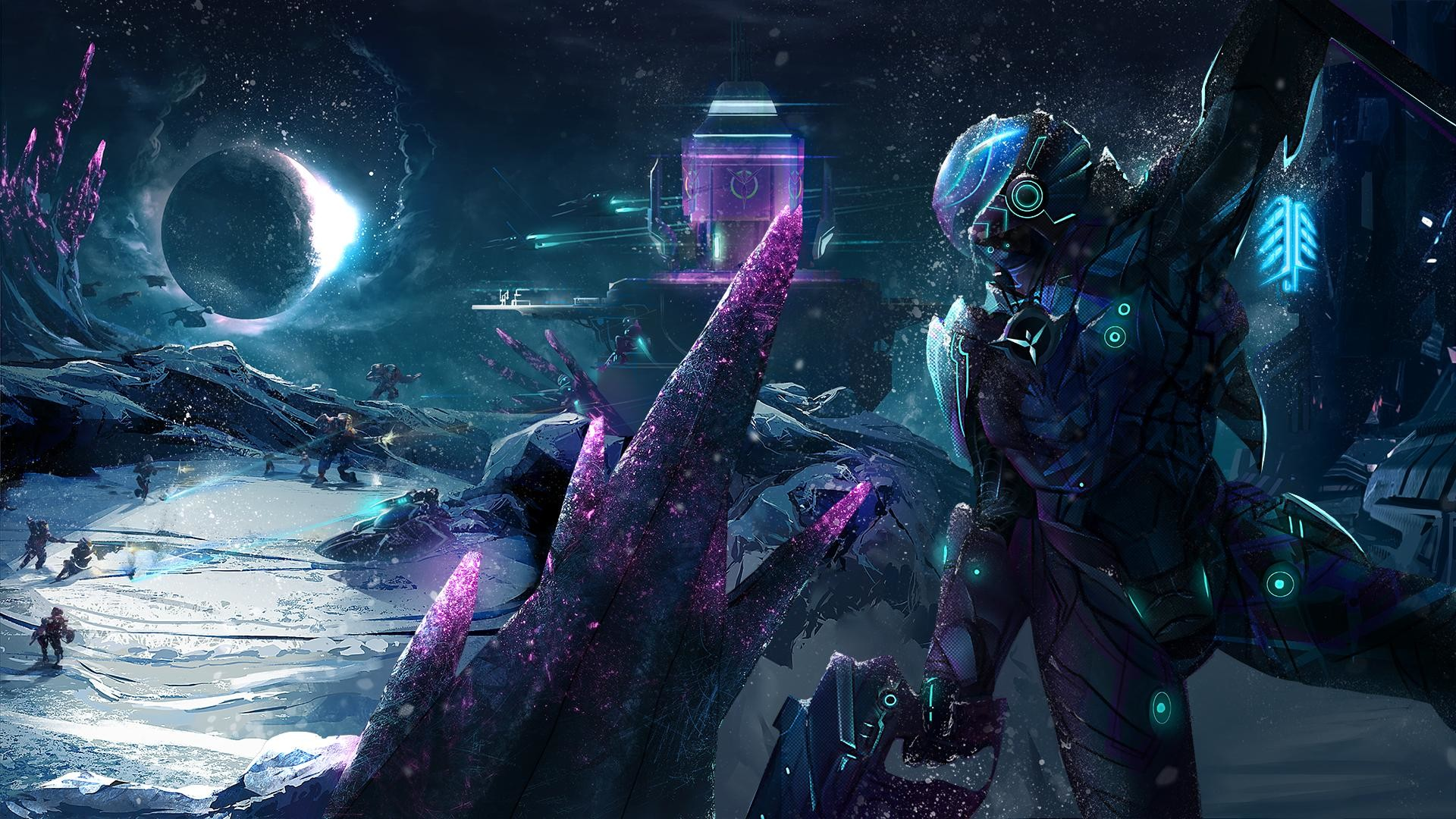 1920x1080 Here is a Planetside 2 fan art ...