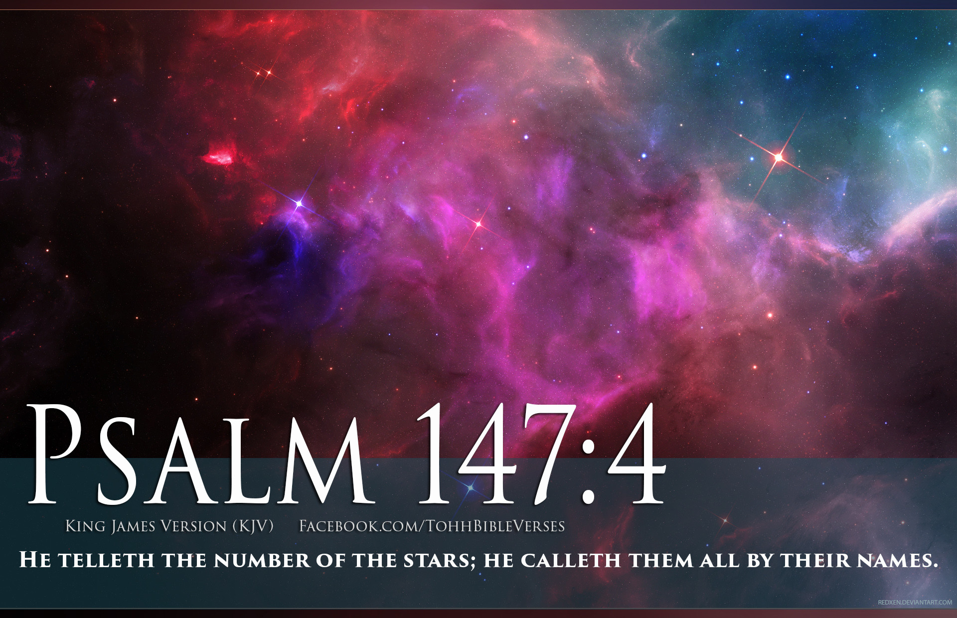 1920x1240 Pictures with Bible Verses On Them | Bible Verse Psalm 147:4 Stars In Space