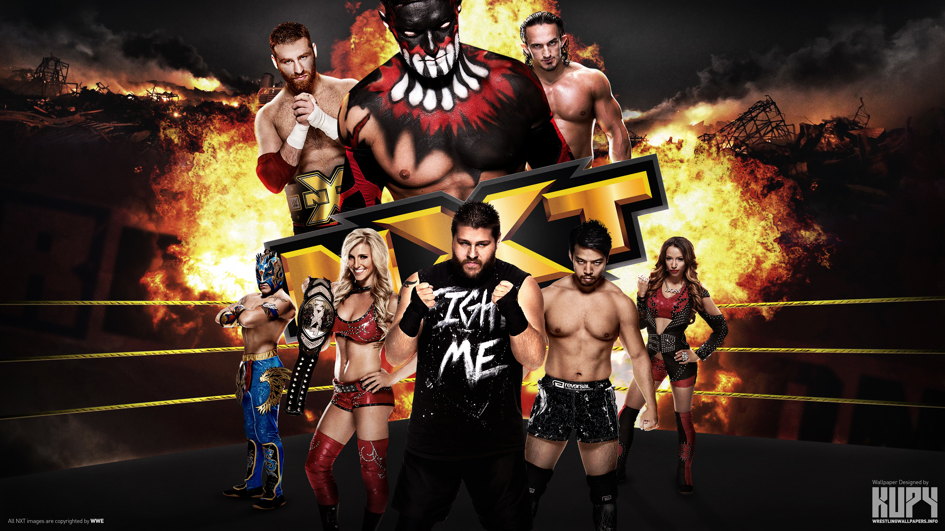 cool wwe backgrounds