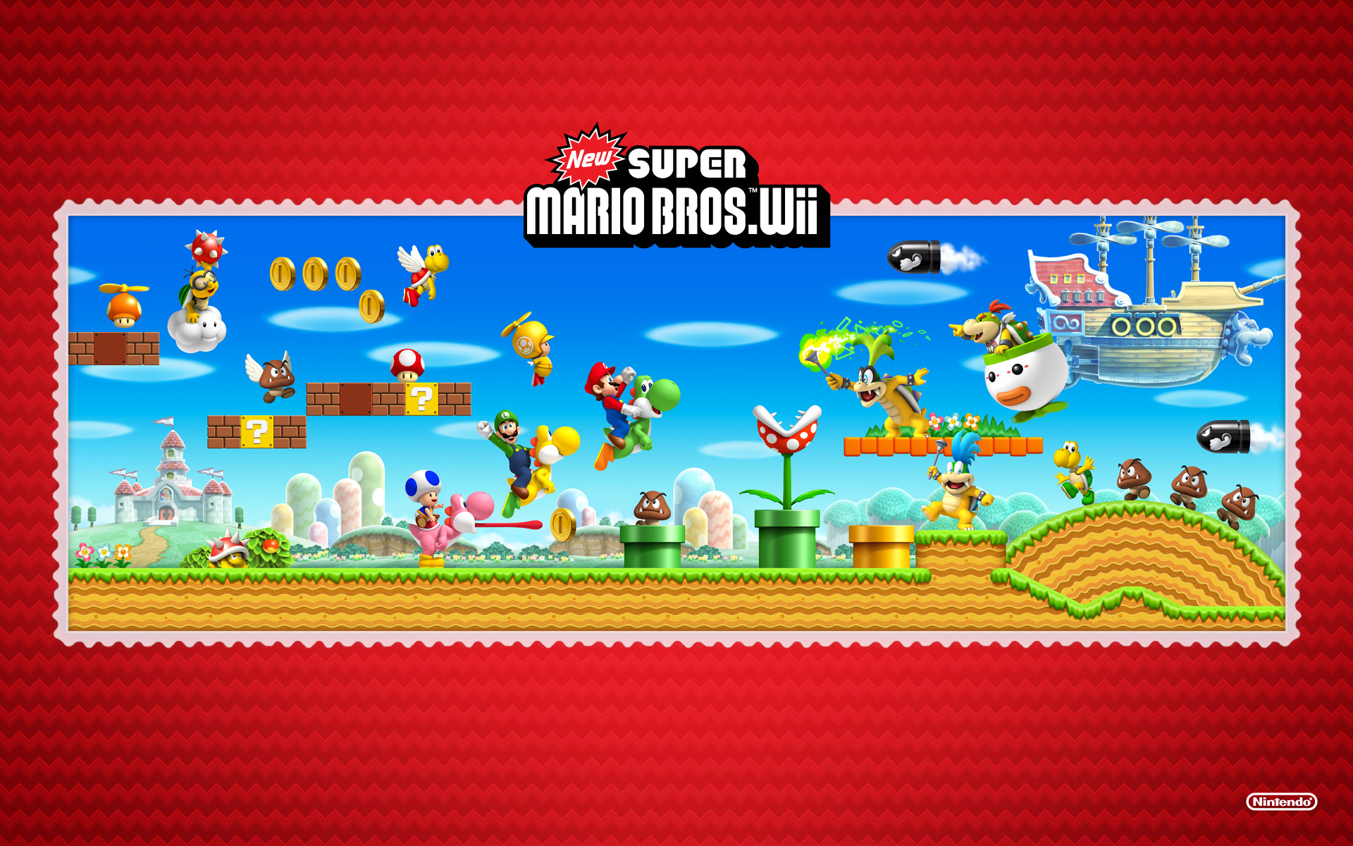 1920x1200 Video Games Wallpaper Set 2 (Nintendo)