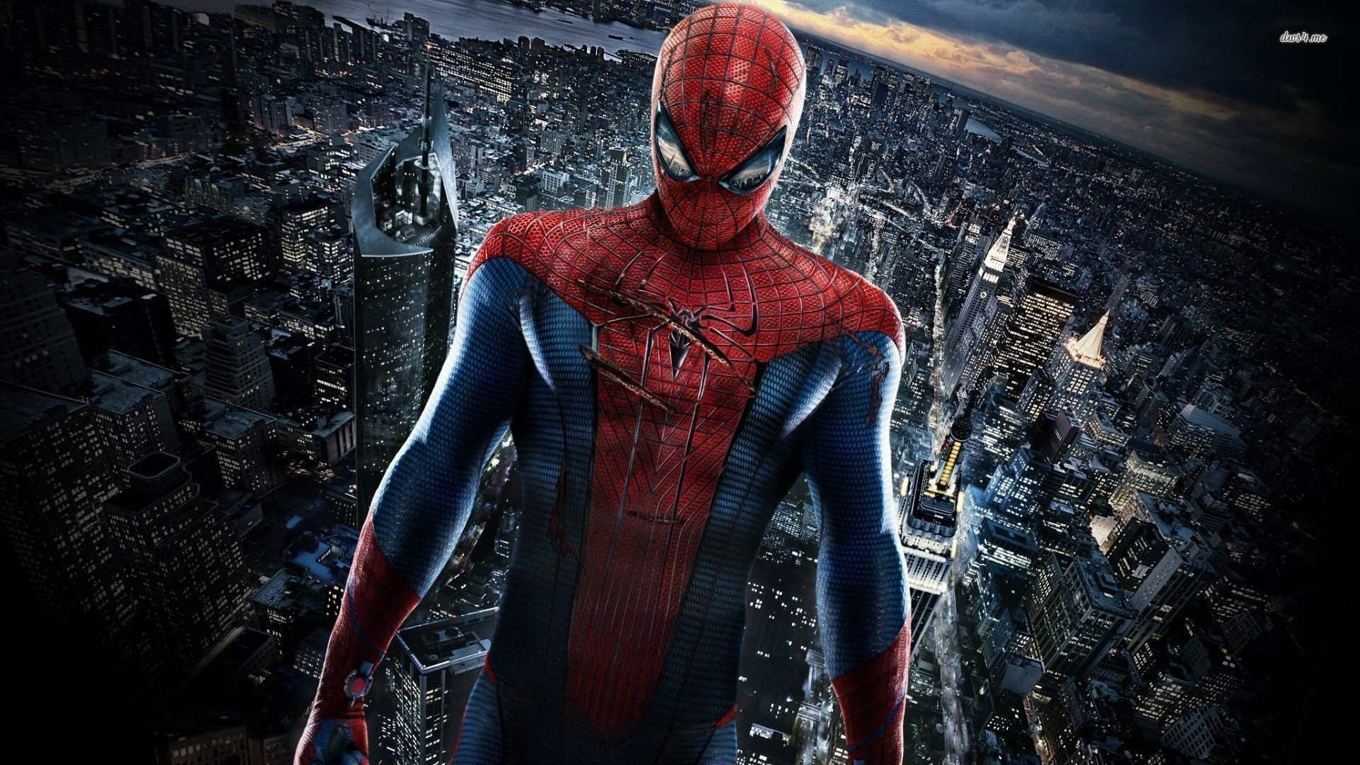 1920x1080 The Amazing Spider-Man guarding the city wallpaper ... 85 · Download · Res:  1920x1440 ...