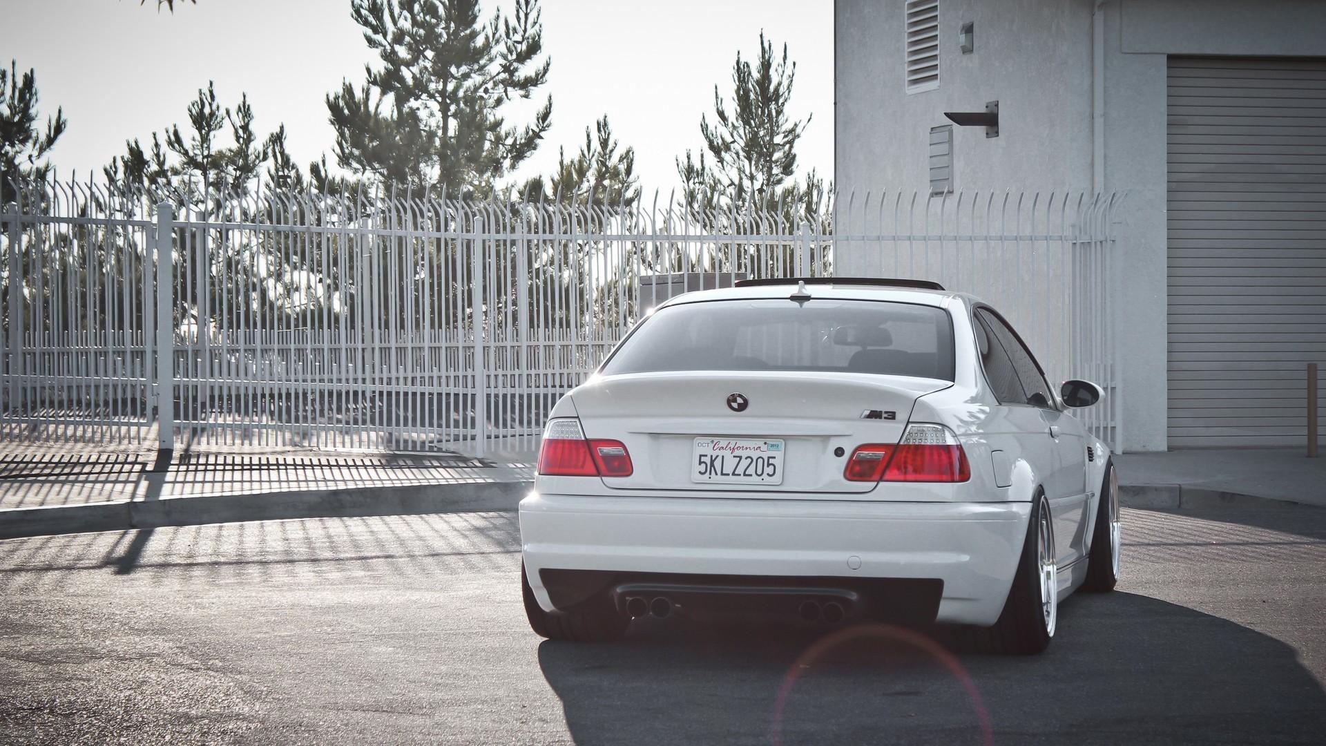 1920x1080 BMW M3 E46 Front Crystal City Car 2014