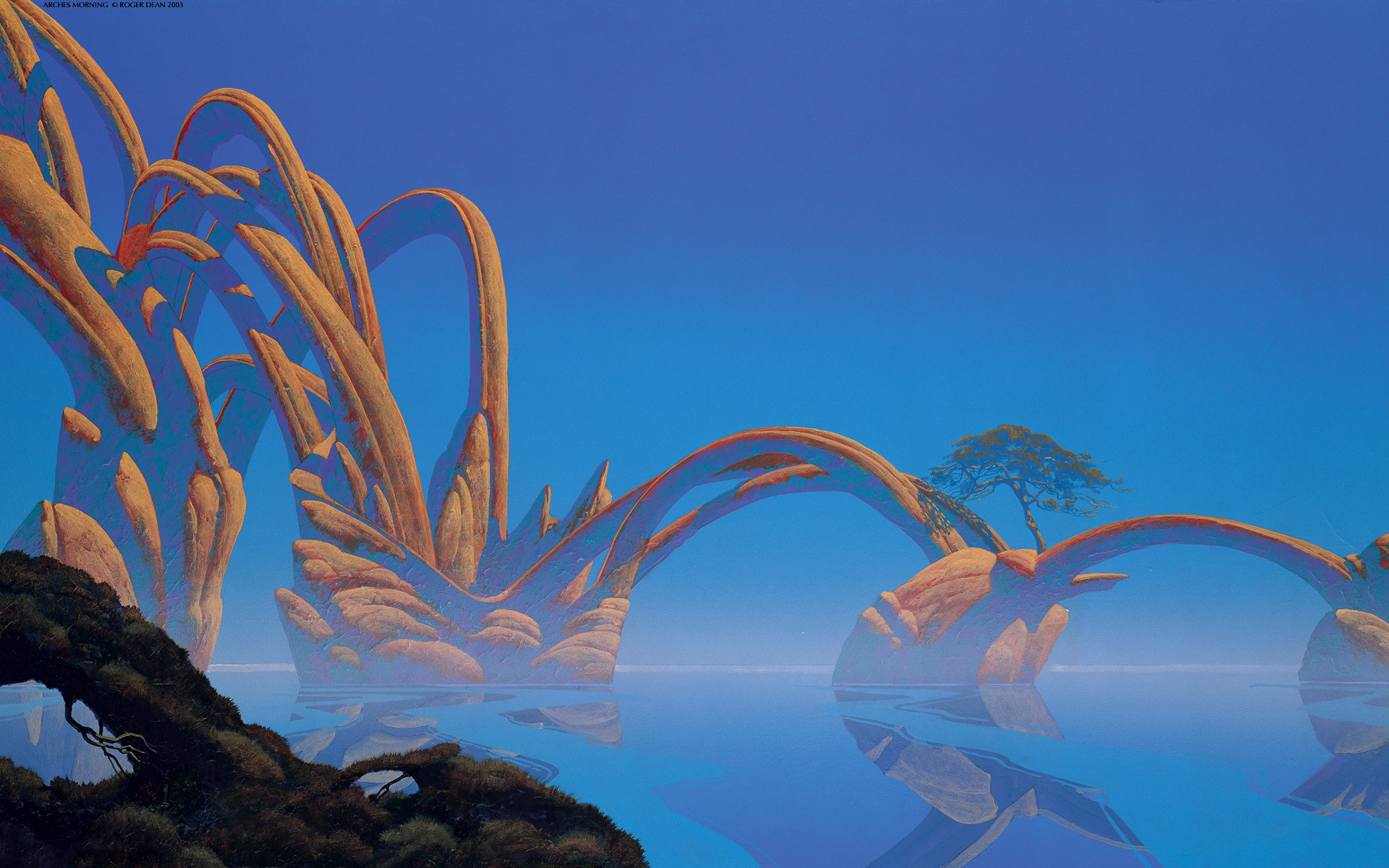 1920x1200 Paintings Roger Dean wallpaper |  | 218041 .