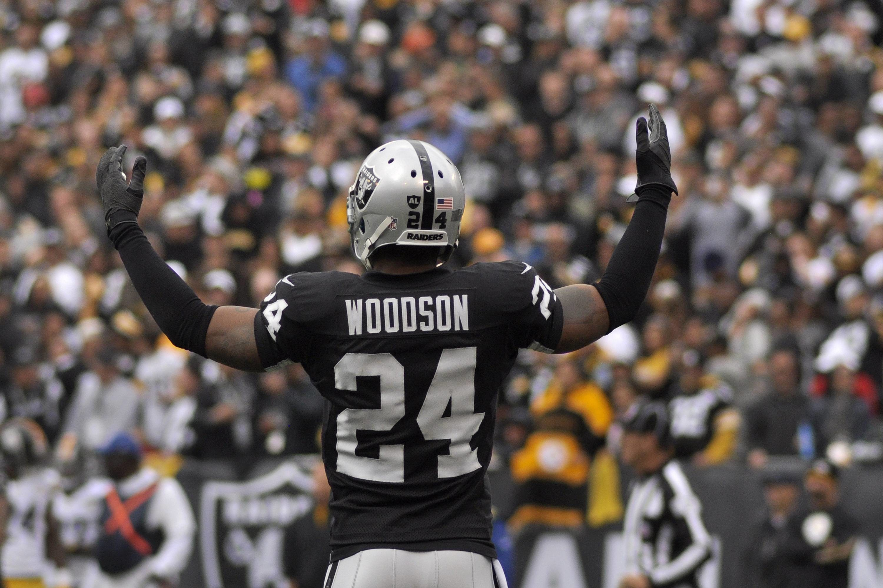 3000x1997 Images For > Charles Woodson Raiders 2013