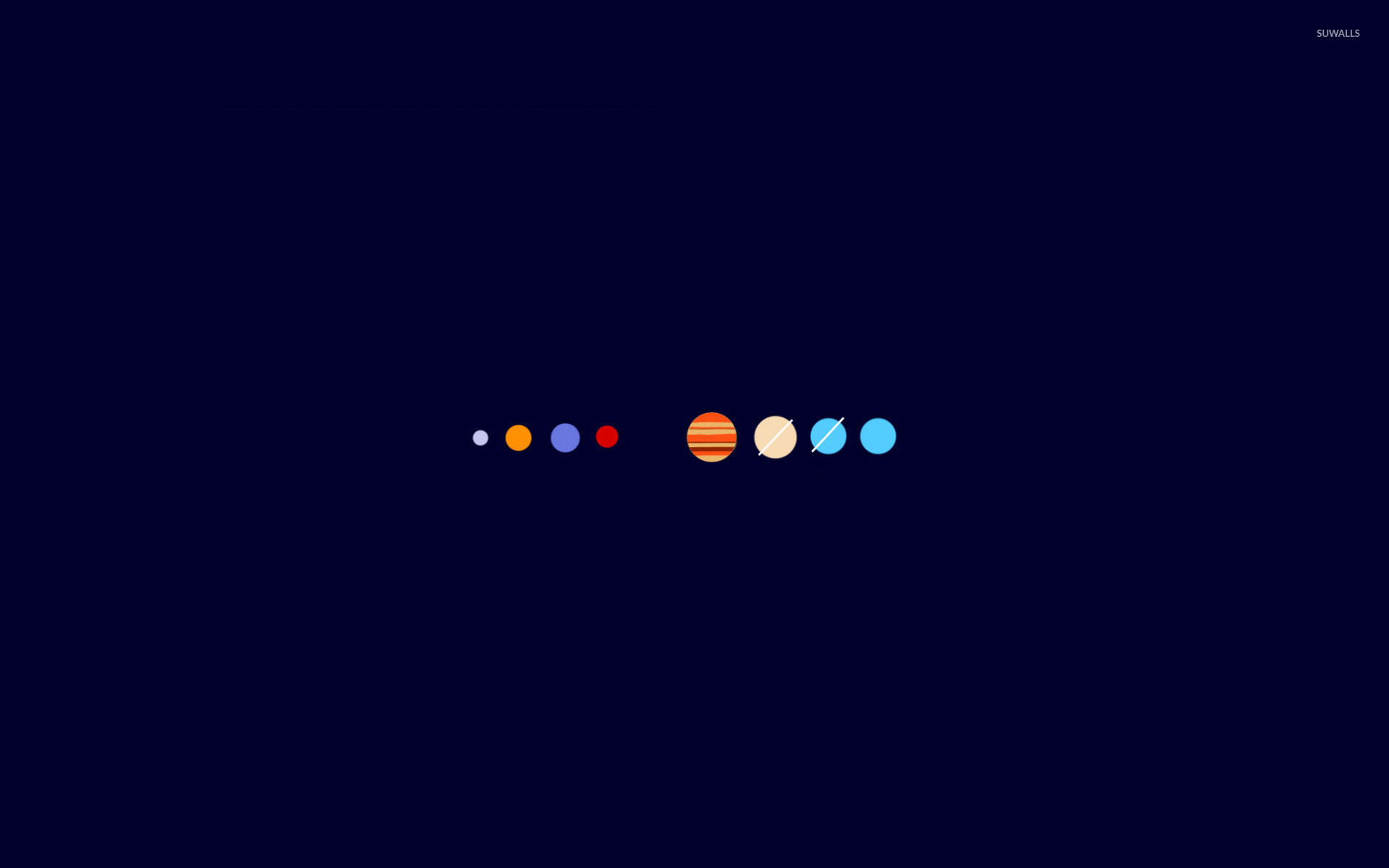 1920x1200 The solar system wallpaper