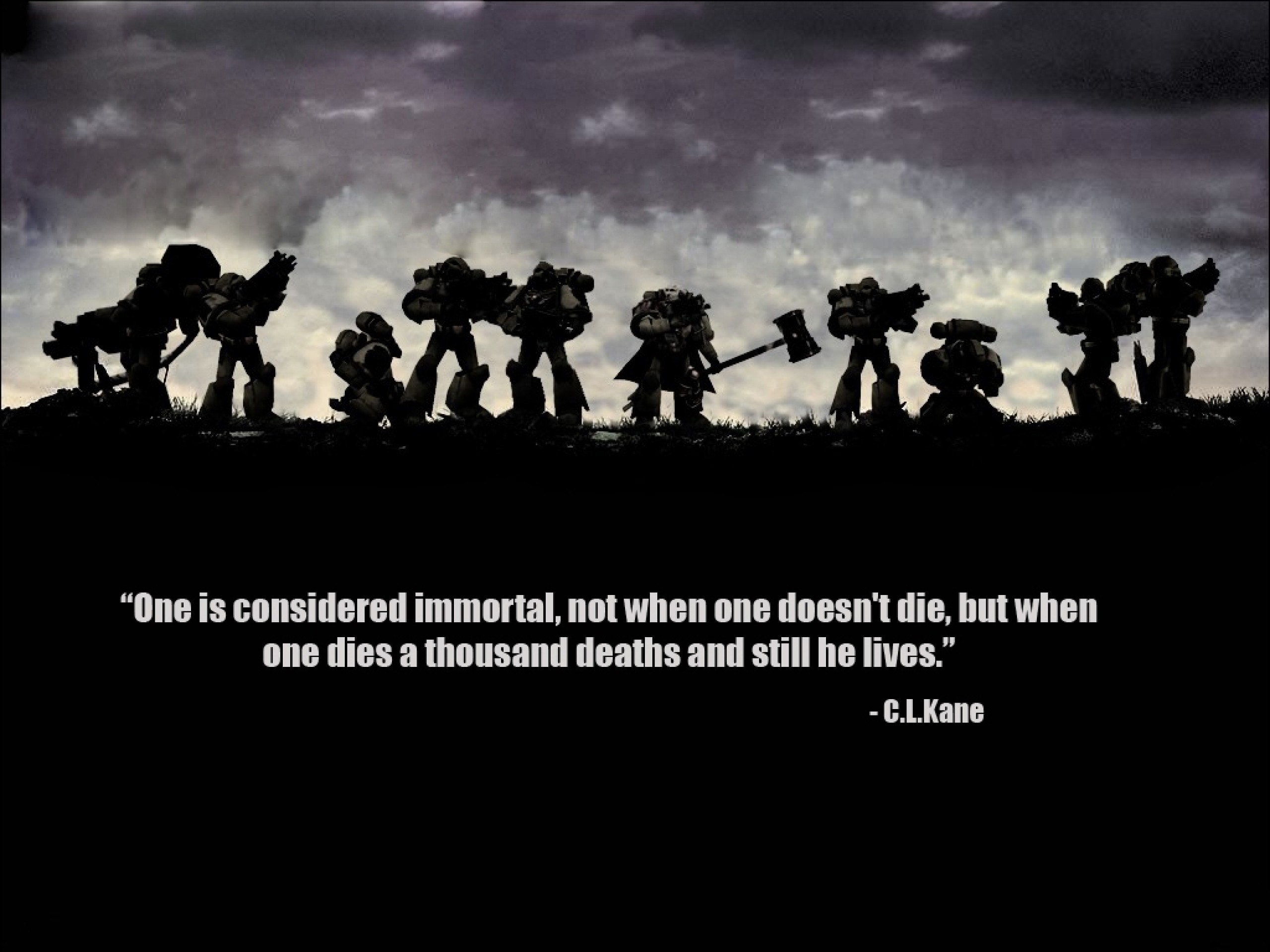 2560x1920 warhammer quotes space marines imperial fists 1024x768 wallpaper Wallpaper  HD