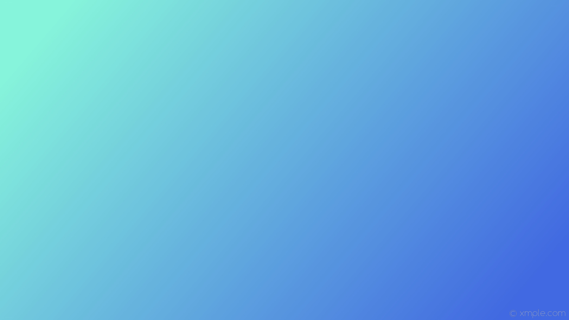 1920x1080 wallpaper cyan blue gradient linear royal blue #86f4db #4169e1 165°