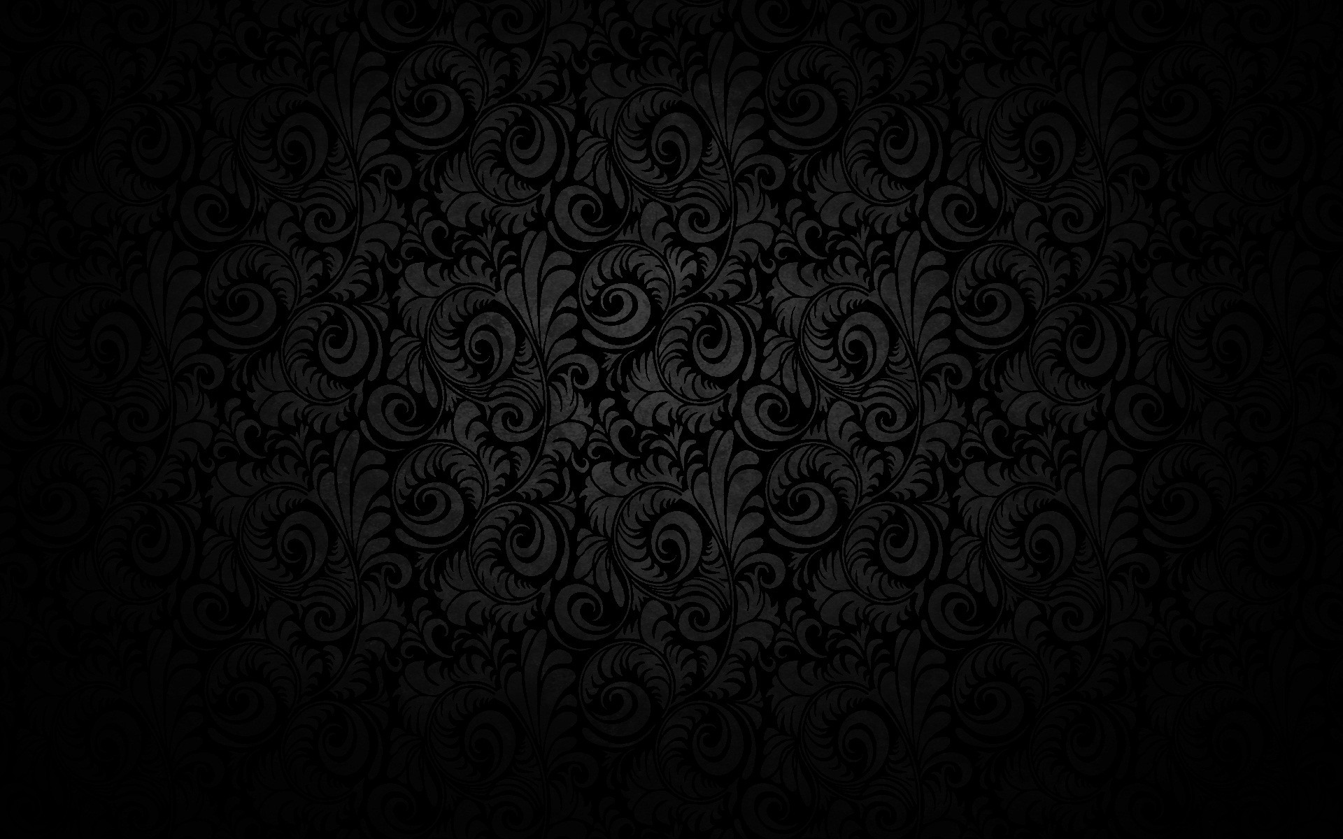 1920x1200 Black Floral Texture Pattern Design Wallpaper Background Wallpaper Res:  Added on , Tagged : wallpaper backgrounds black wallpaper with black  background at ...