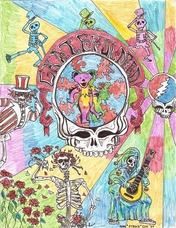 Grateful Dead Background (55+ images)