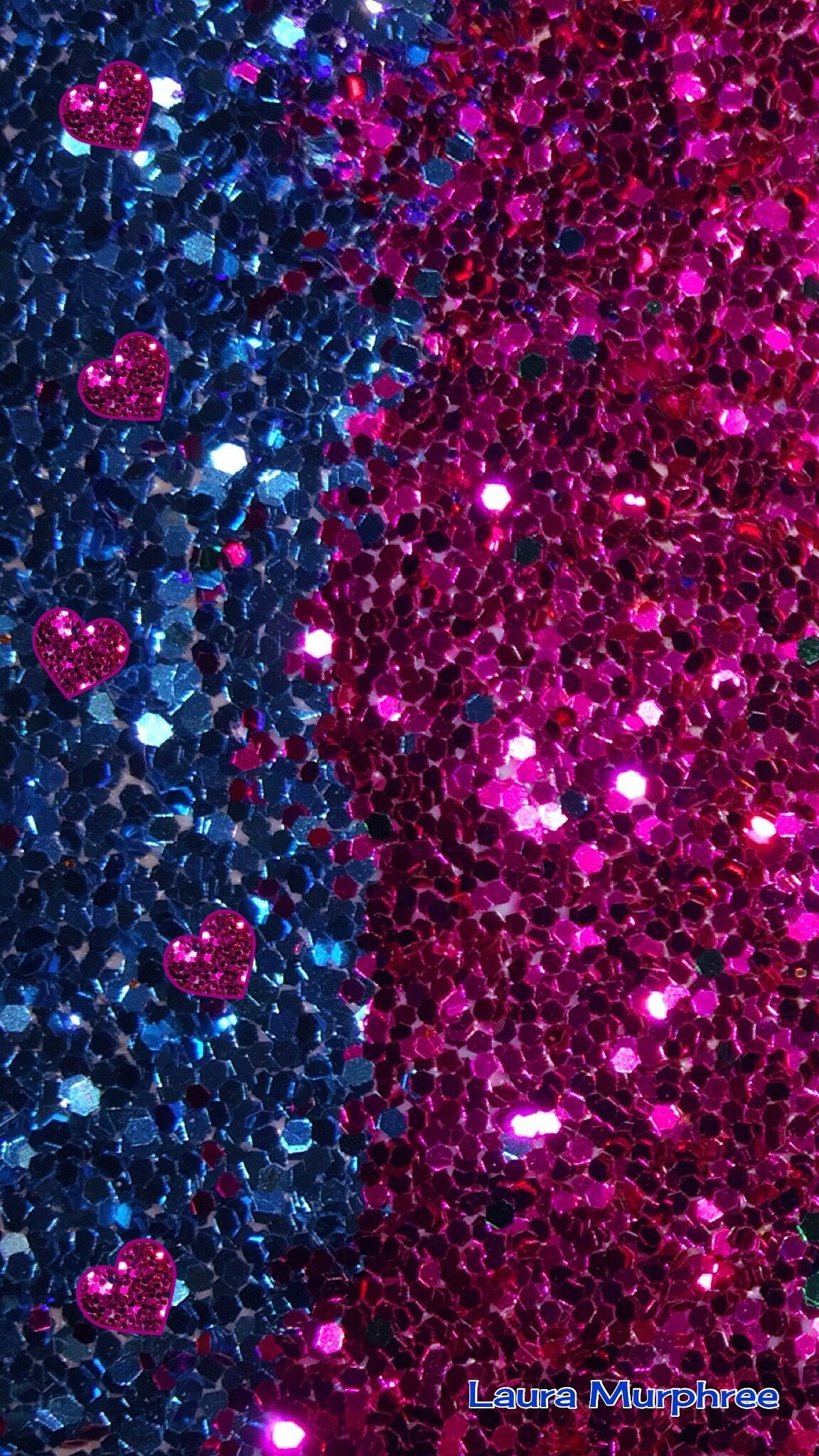 1152x2048 Glitter phone wallpaper sparkle background bling shimmer sparkles glitter  glittery colorful pink blue hearts