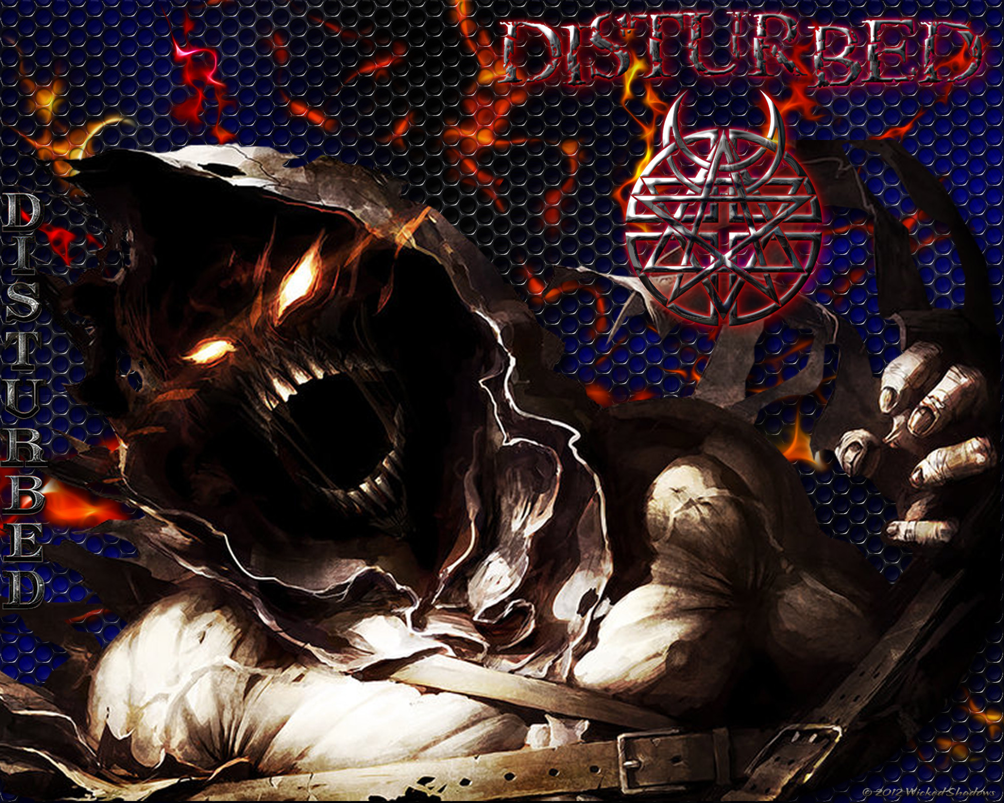 2000x1601 Disturbed Heavy Metal Wallpaper