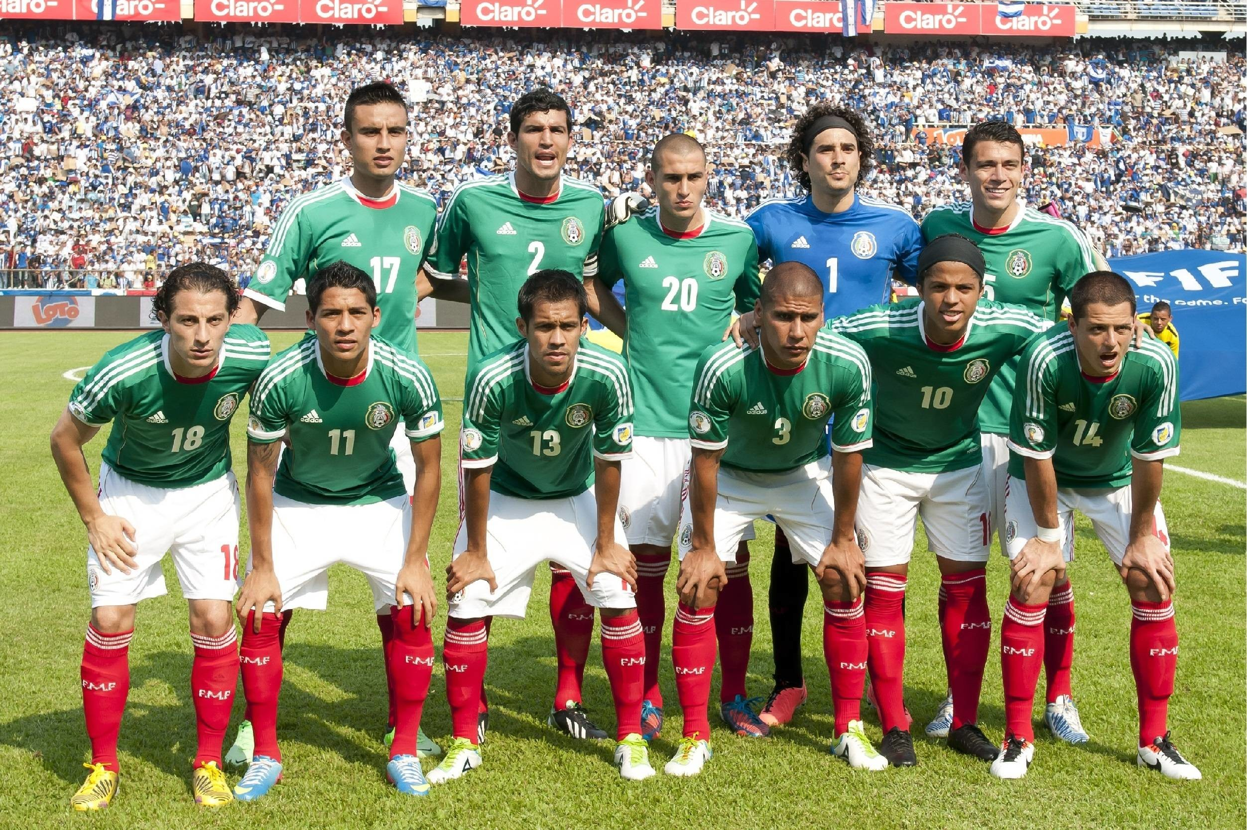 2504x1668 Mexico Team Wallpapers 150825 Images | soccerwallpics.com