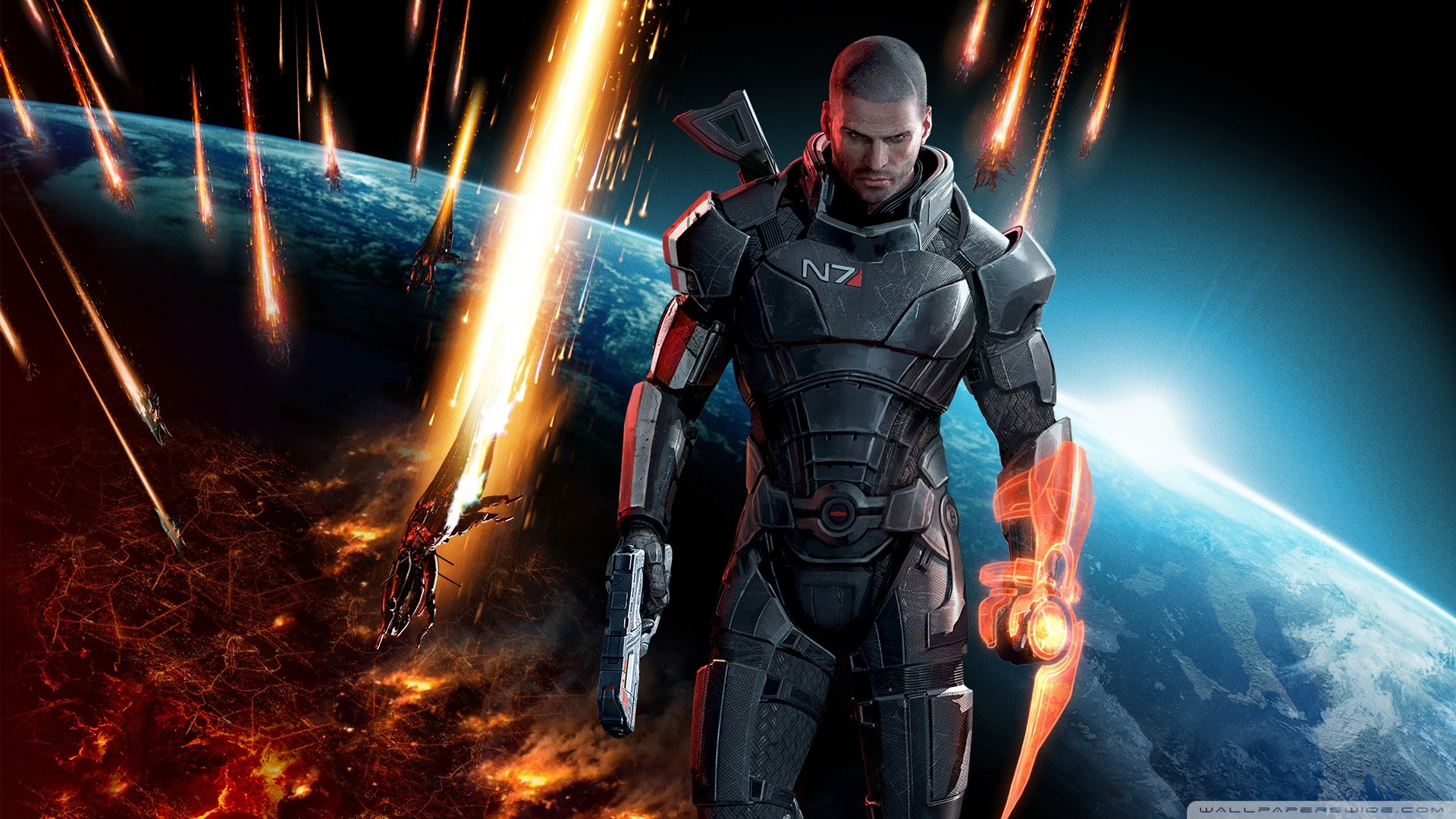 Mass Effect Wallpaper 1920x1080 81 Images