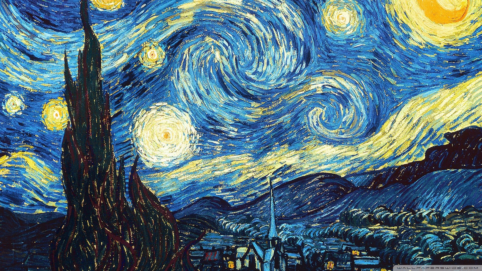 Hd Wallpapers Hd Backgrounds: Van Gogh HD Wallpaper (43+ Images