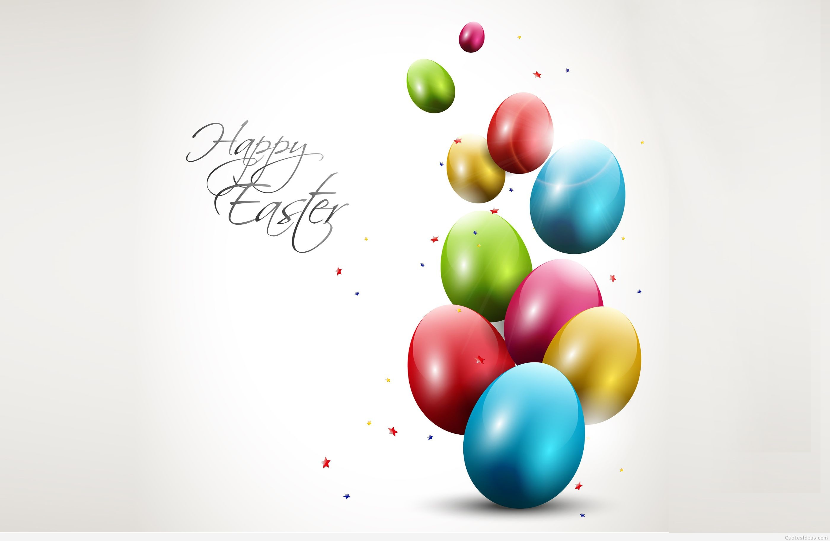 2800x1827 OLYMPUS DIGITAL CAMERA Modern Easter background with colorful eggs ...